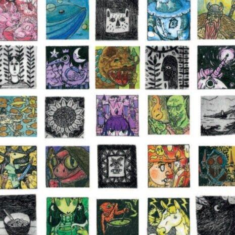 Staffordshire Illustration Students