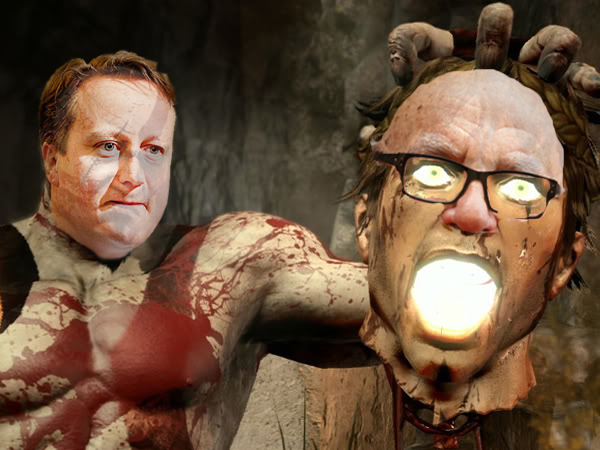 David Cameron kills Rupert Murdoch