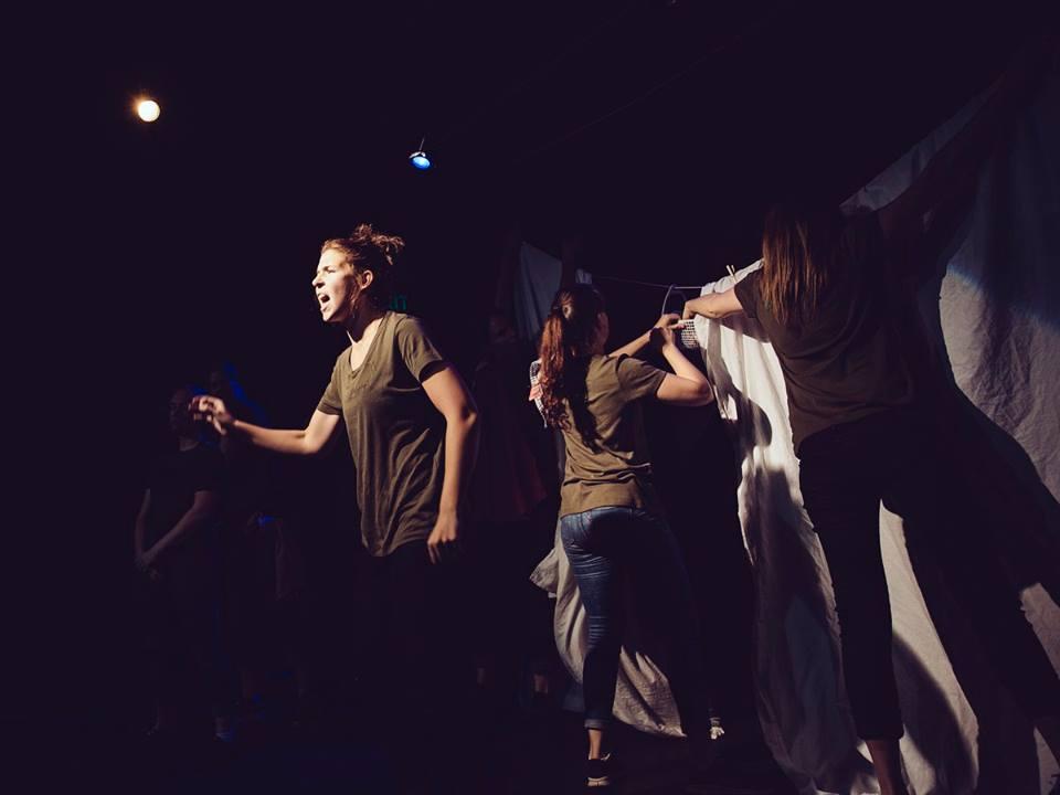 'A Lady Shot' - Girls Act Good, La Mama Explorations 2015