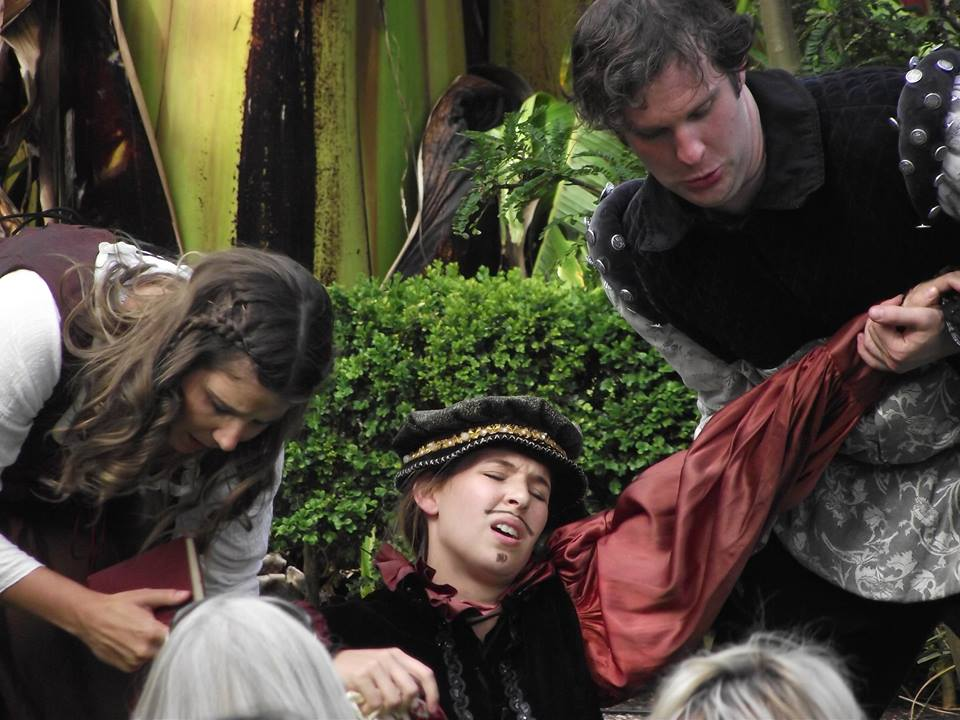 'As You Like It' - OZACT, Touring Production (Character - Rosalind)