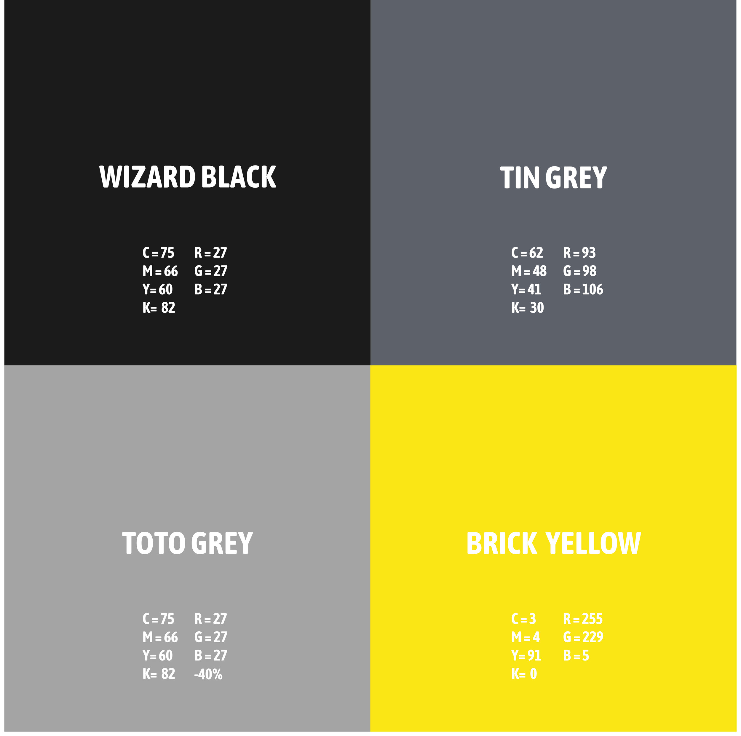 A new dynamic colour palette