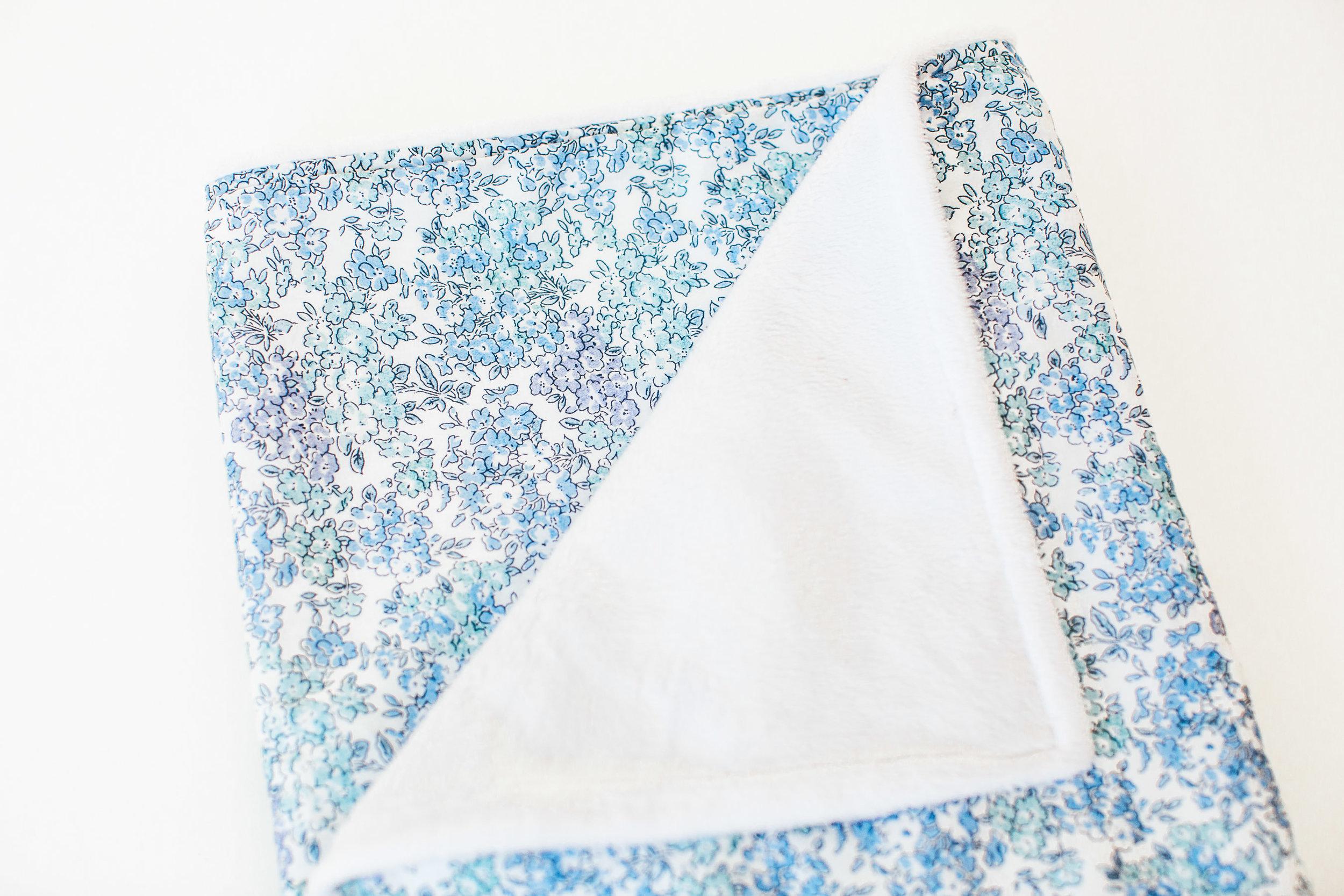 Liberty Print Baby Blanket - Tom  30 GBP