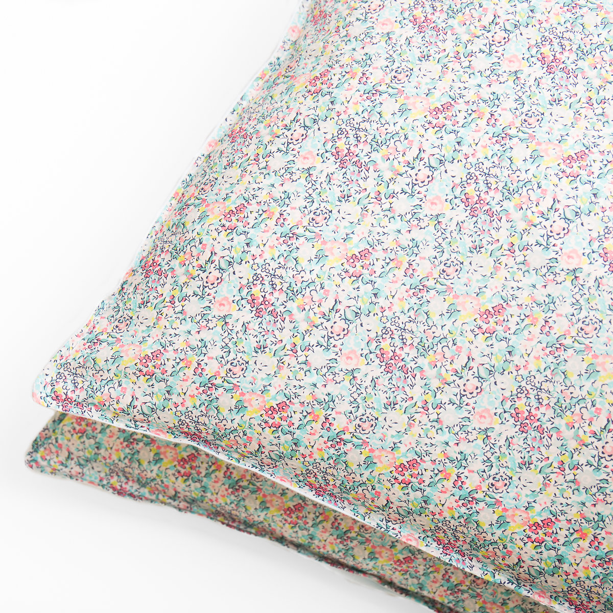 We think this Emma and Georgina Liberty Print is Tutti Fruitti. Get your self some summery pillowcases from Poppy and Honesty  here