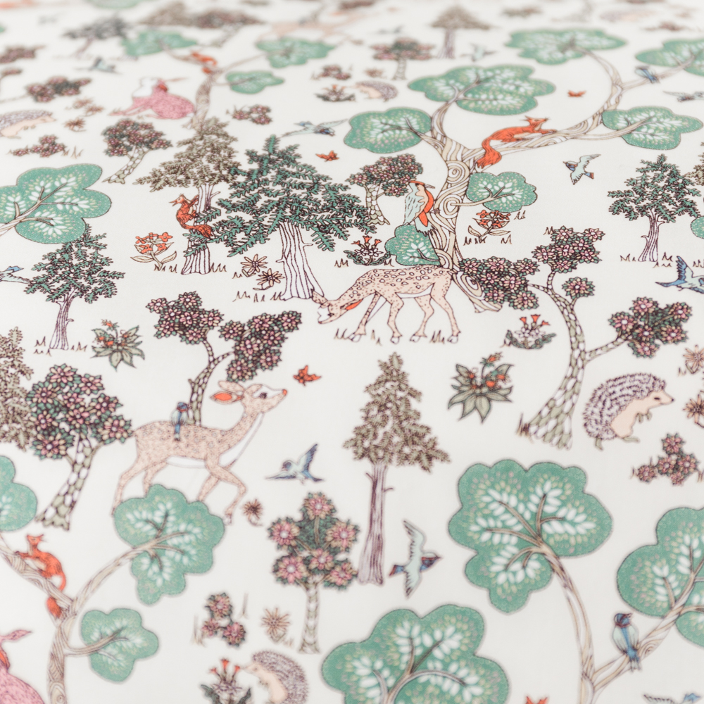 Bedding in Liberty Print 'Doe A Deer'