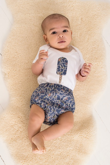 Aster Liberty Print Boys Bloomers