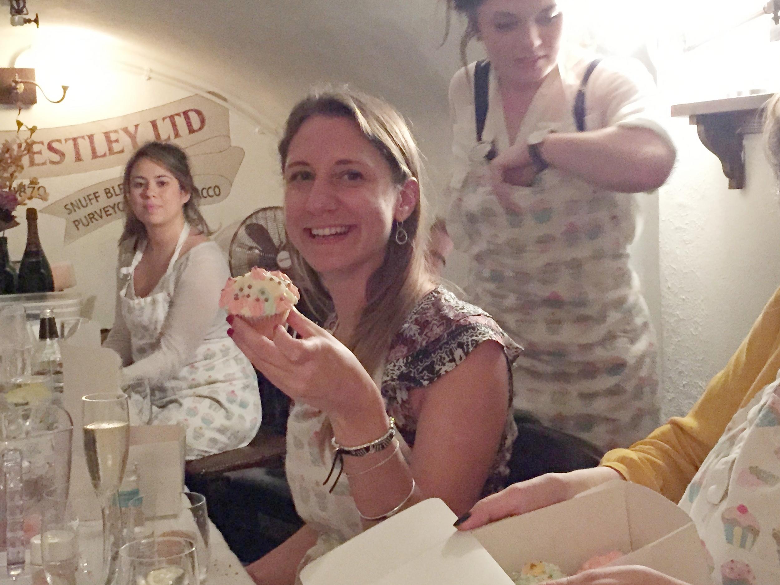 Smiling girl cupcake Unilever.JPG