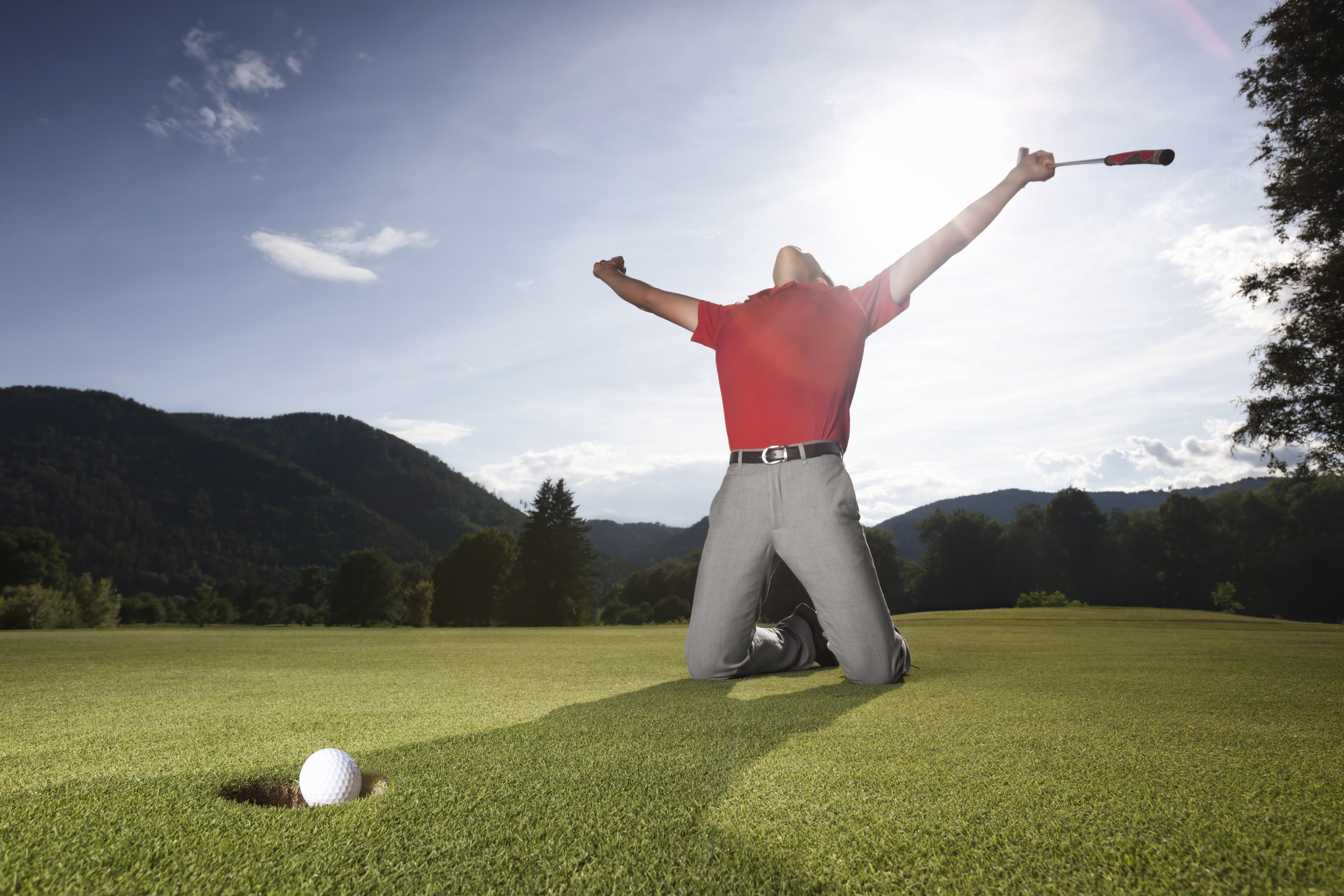 Hole more putts with Limitless golf based in Chesham and Amersham