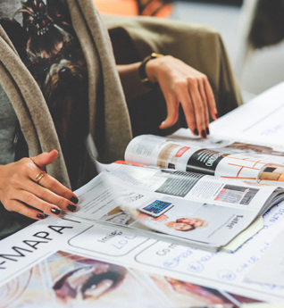 The role of offline media - The emphasis is not just on digital promotions but on the use of conventional established media such as newspapers, radio and TV.