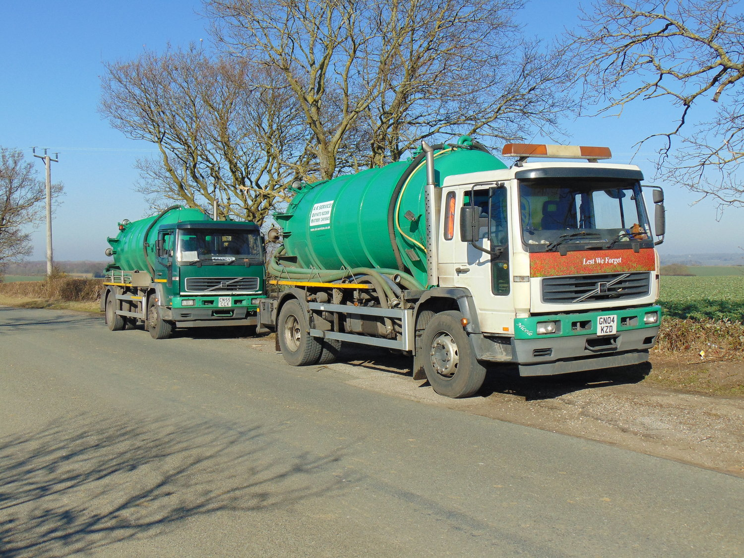 Tanker Hire | Vacuum Tankers and Jetting Units for Hire