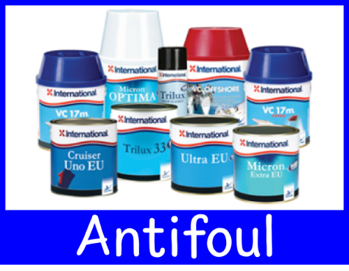 We Stock both International and Hempel paints and antifouls in a full range of colours