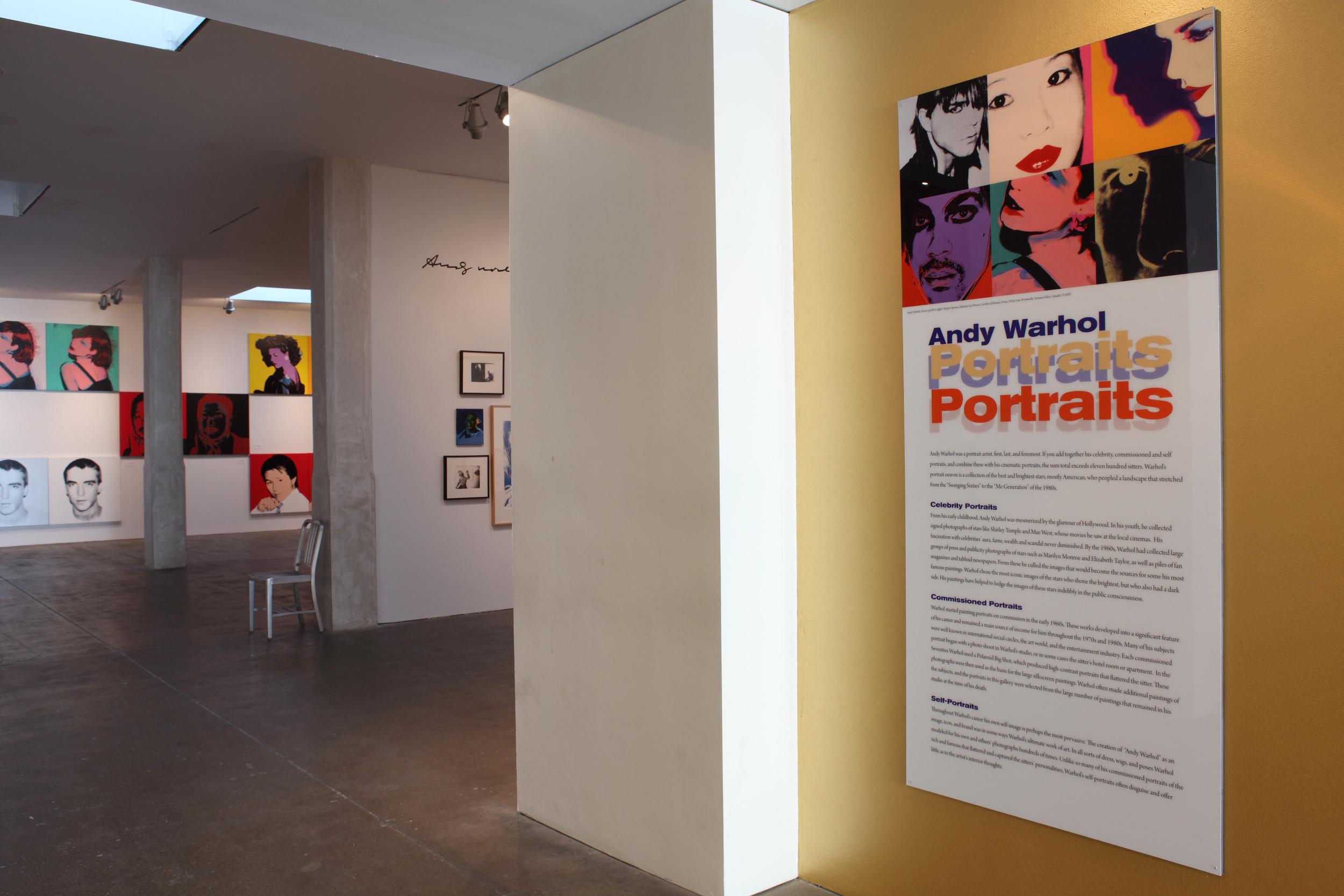 Andy Warhol Portraits installation 2010 001.JPG