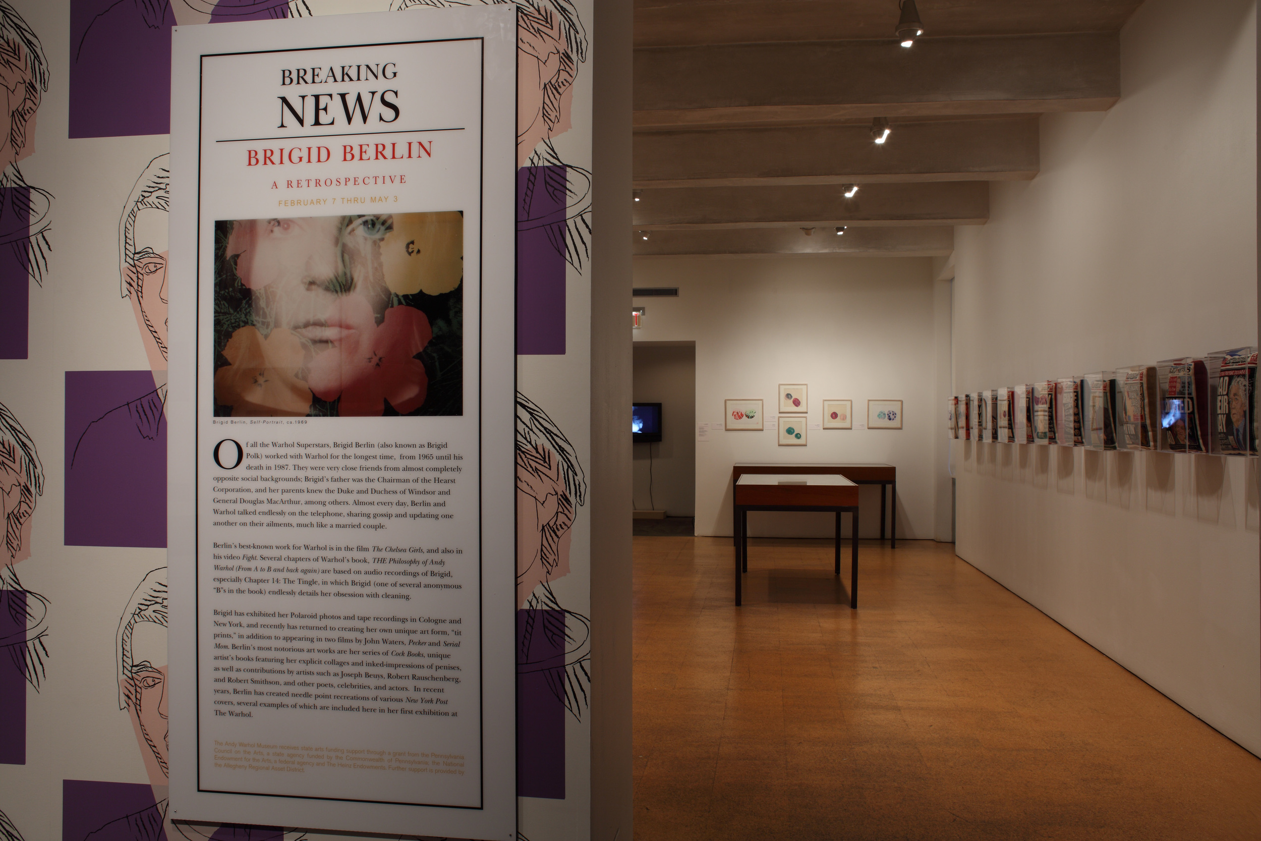 Breaking News - A Brigid Berlin Retrospective at The Andy Warhol Museum, 2009 (1).jpg