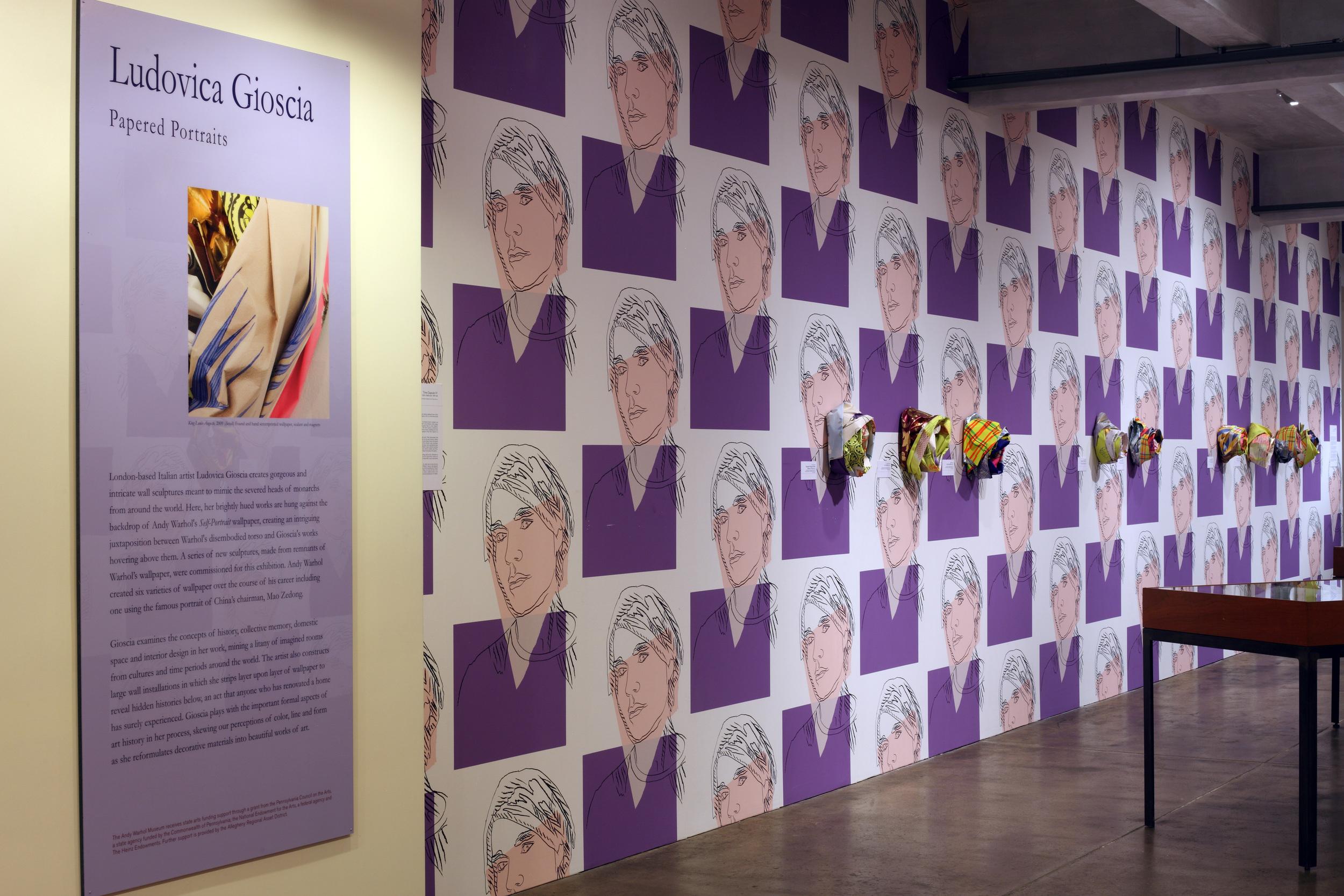 Ludovica Gioscia - Papered Portraits, 2009 0001.JPG