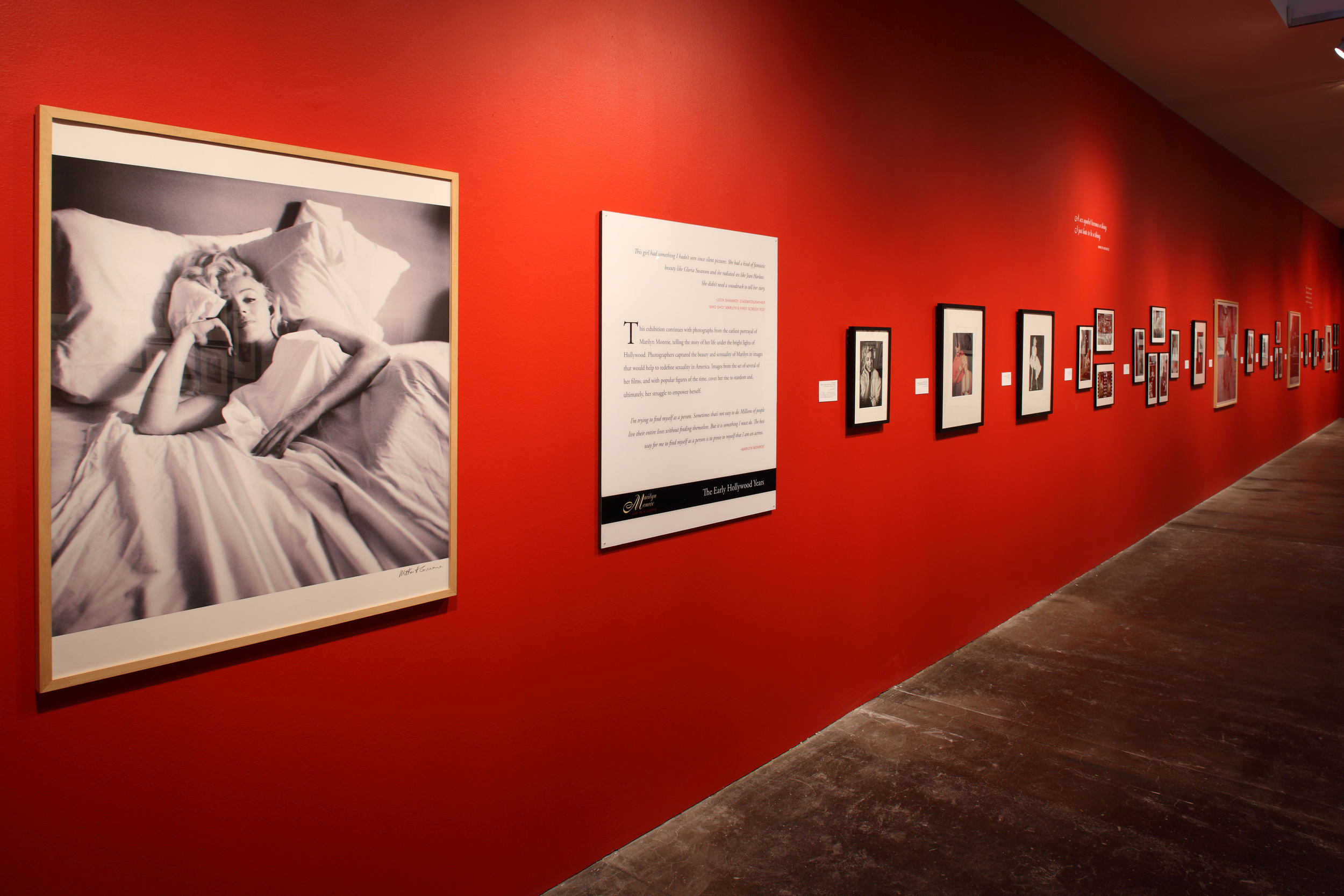 Marilyn Monroe - Life as a Legend at The Andy Warhol Museum, Pittsburgh, 2010 0007.JPG