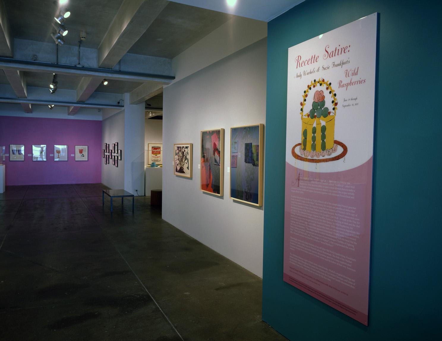 Recette Satire (Wild Raspberries) exhibition at The Andy Warhol Museum, 2008 (1).jpg