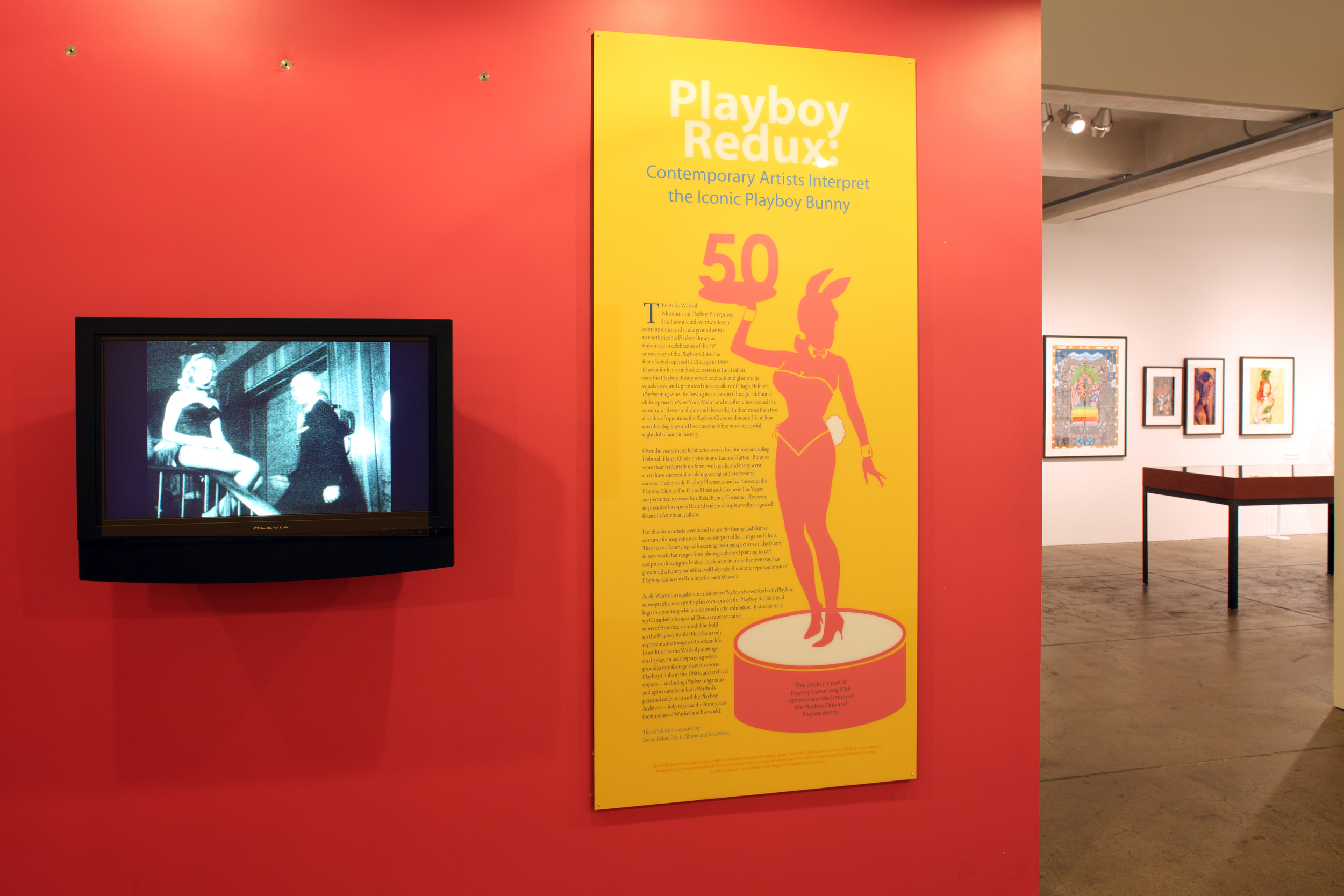 Playboy Redux at The Andy Warhol Museum, 2010 0001.JPG