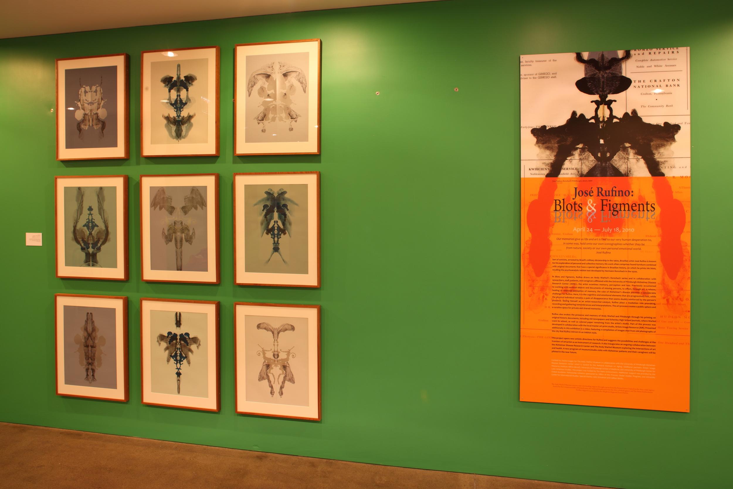Jose Rufino - Blots & Figments at The Andy Warhol Museum, 2010 001.JPG