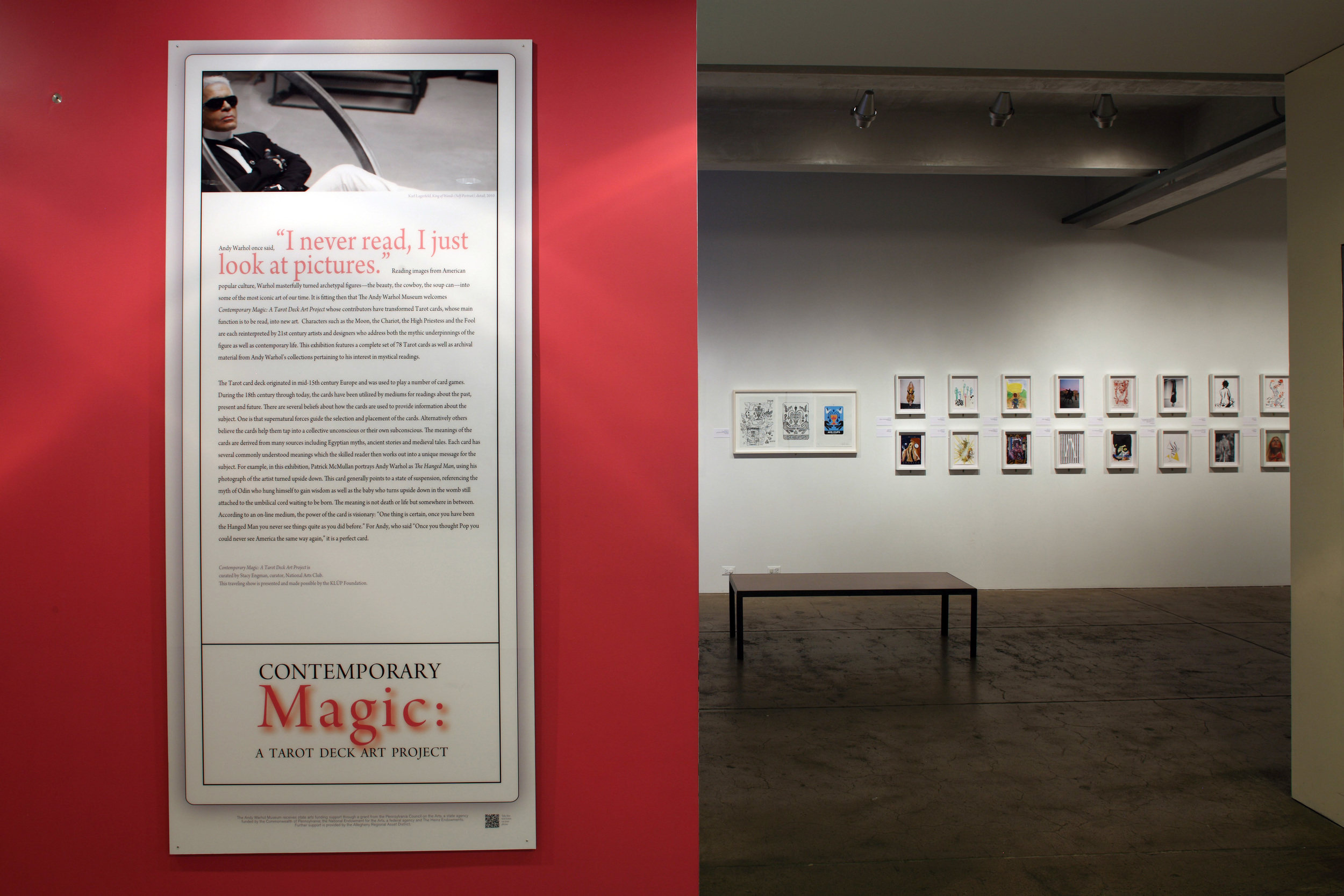 Contemporary Magic - A Tarot Deck Art Project at AWM, 2011 0001.JPG