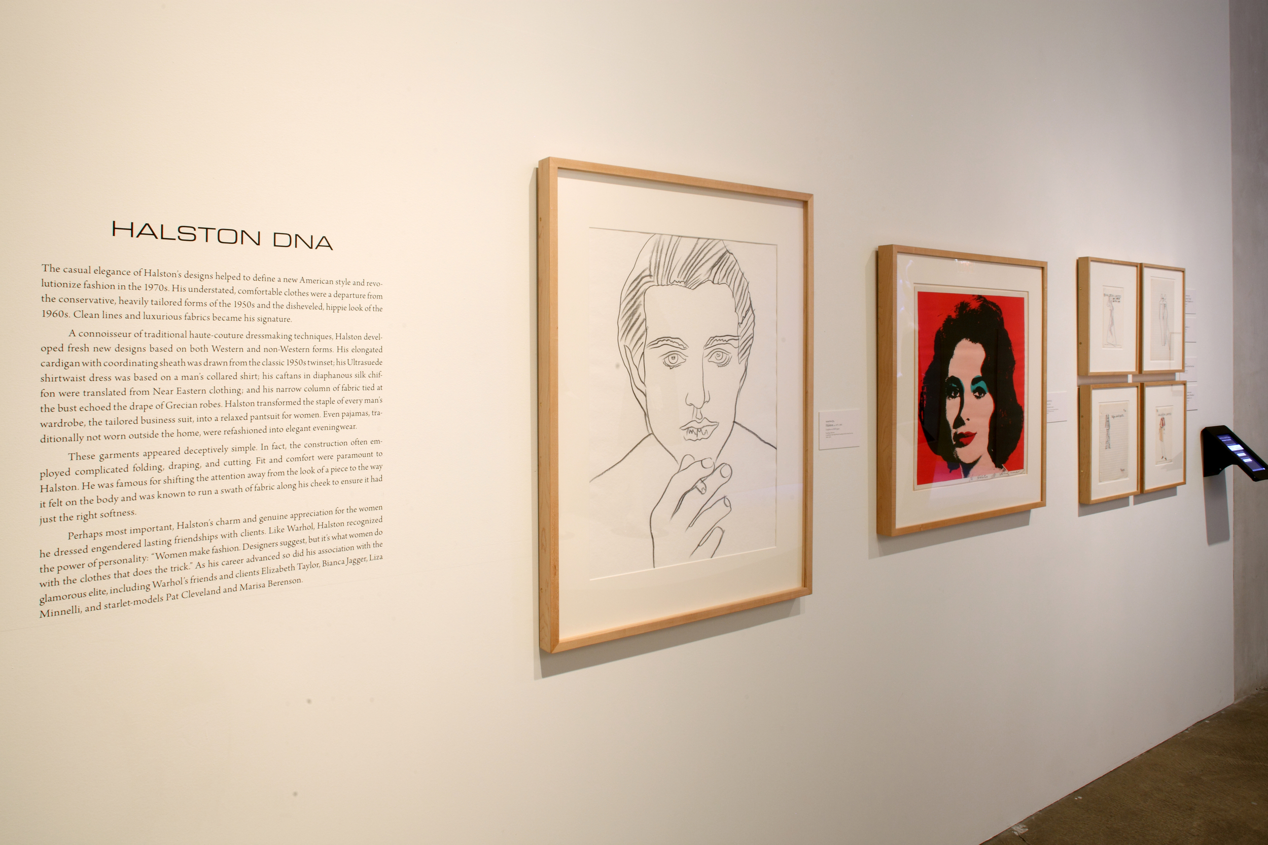 Halston and Warhol - Silver and Suede at AWM, 2014 0012.jpg