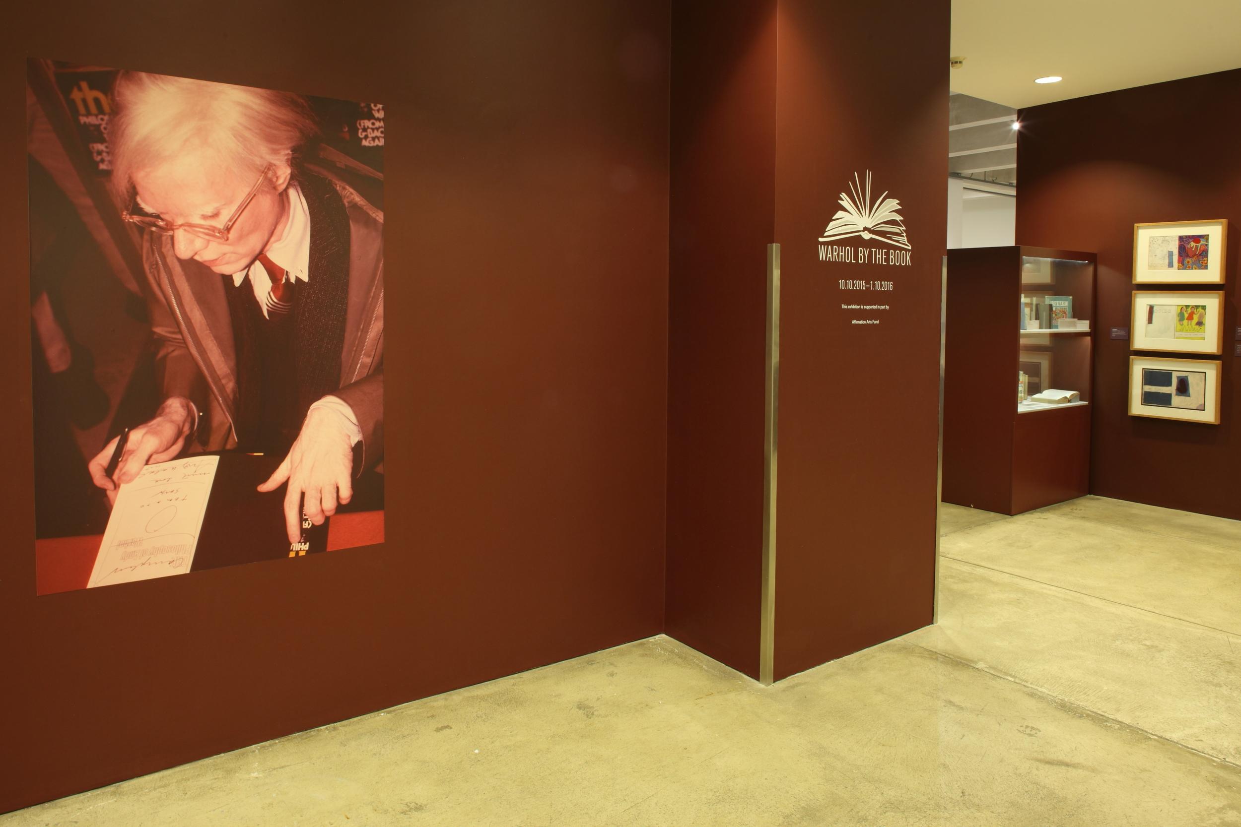 Warhol By the Book at AWM, 2015 0002.JPG