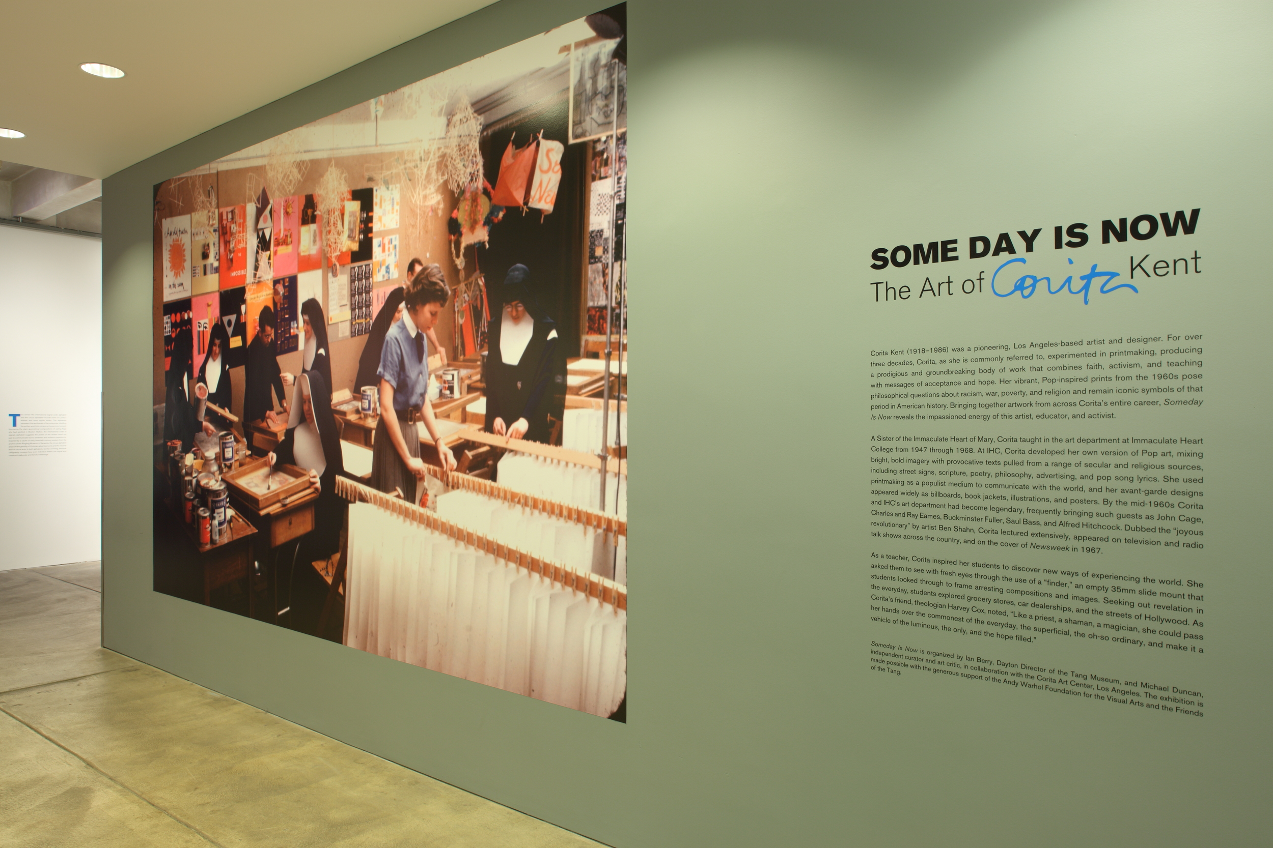 Some Day is Now - The Art of Corita Kent at AWM, 2015 0001.JPG