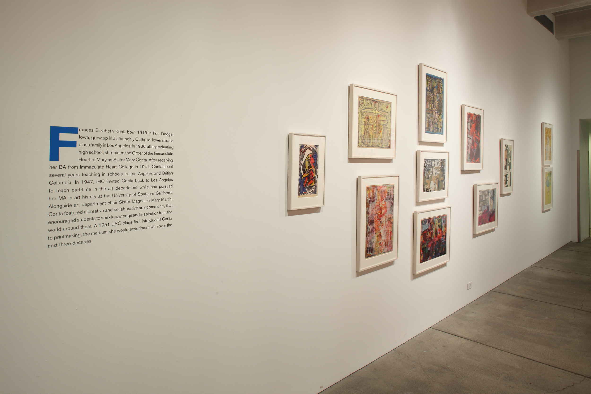 Some Day is Now - The Art of Corita Kent at AWM, 2015 0006.JPG