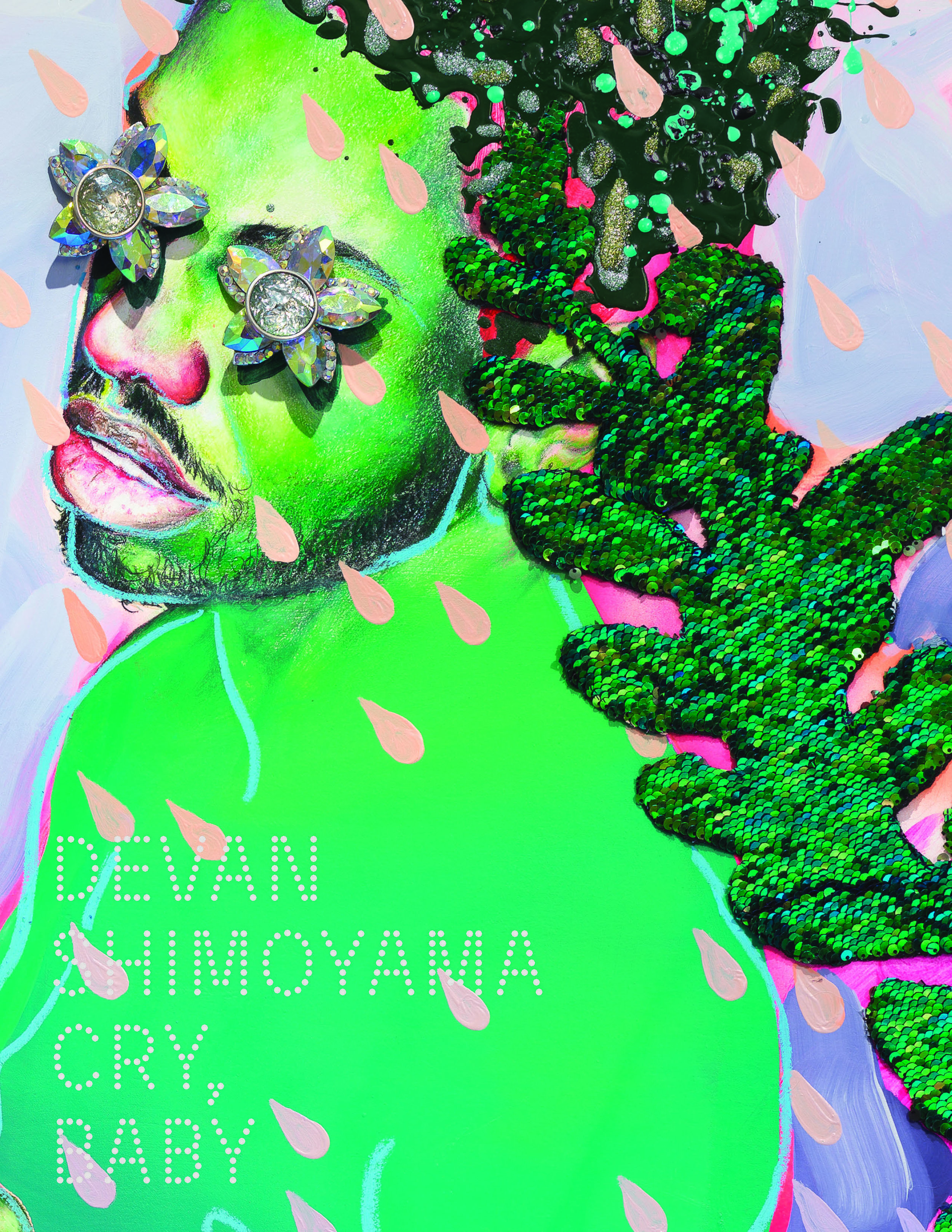 Devan Shimoyama: Cry, Baby - by Jessica Beck, exhibition catalogue, Published by The Andy Warhol Museum, 2018.