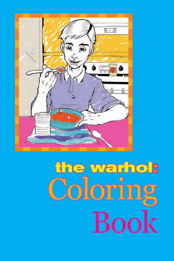 The Warhol Coloring Book -