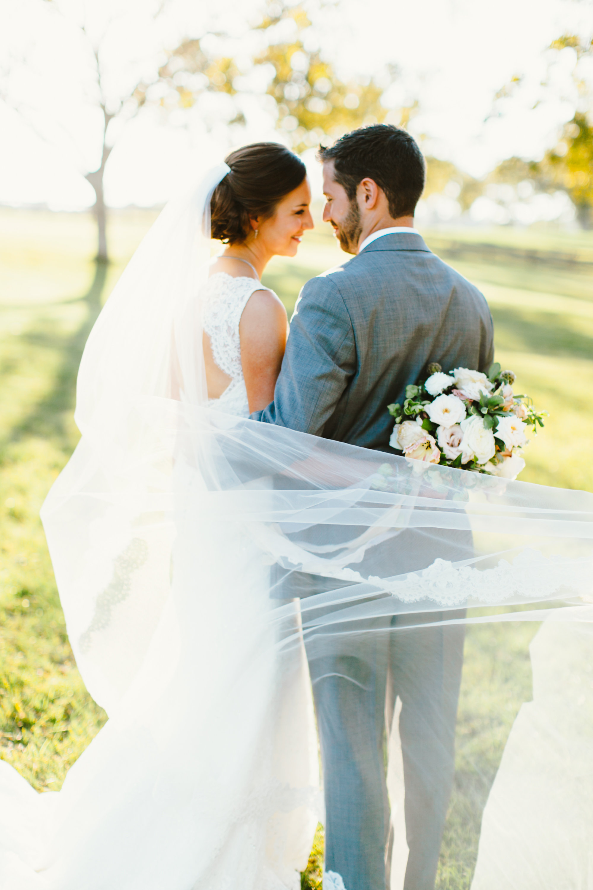 Melissa and Brian's Countryside Wedding