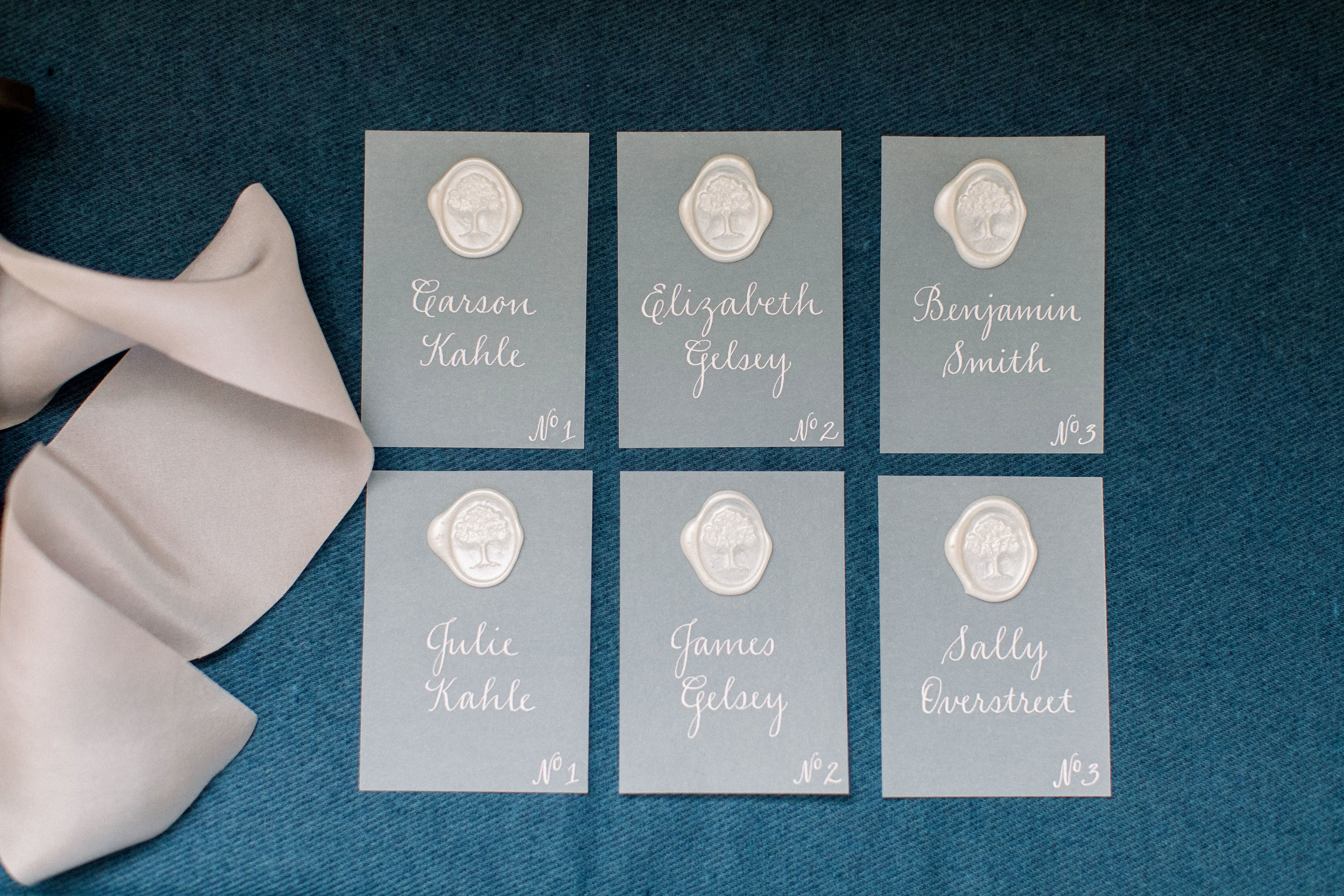 Place Cards + Escort Cards