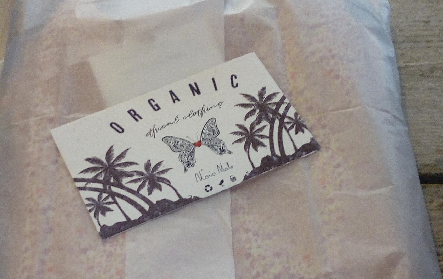 Cassava bags. Conscious clothing