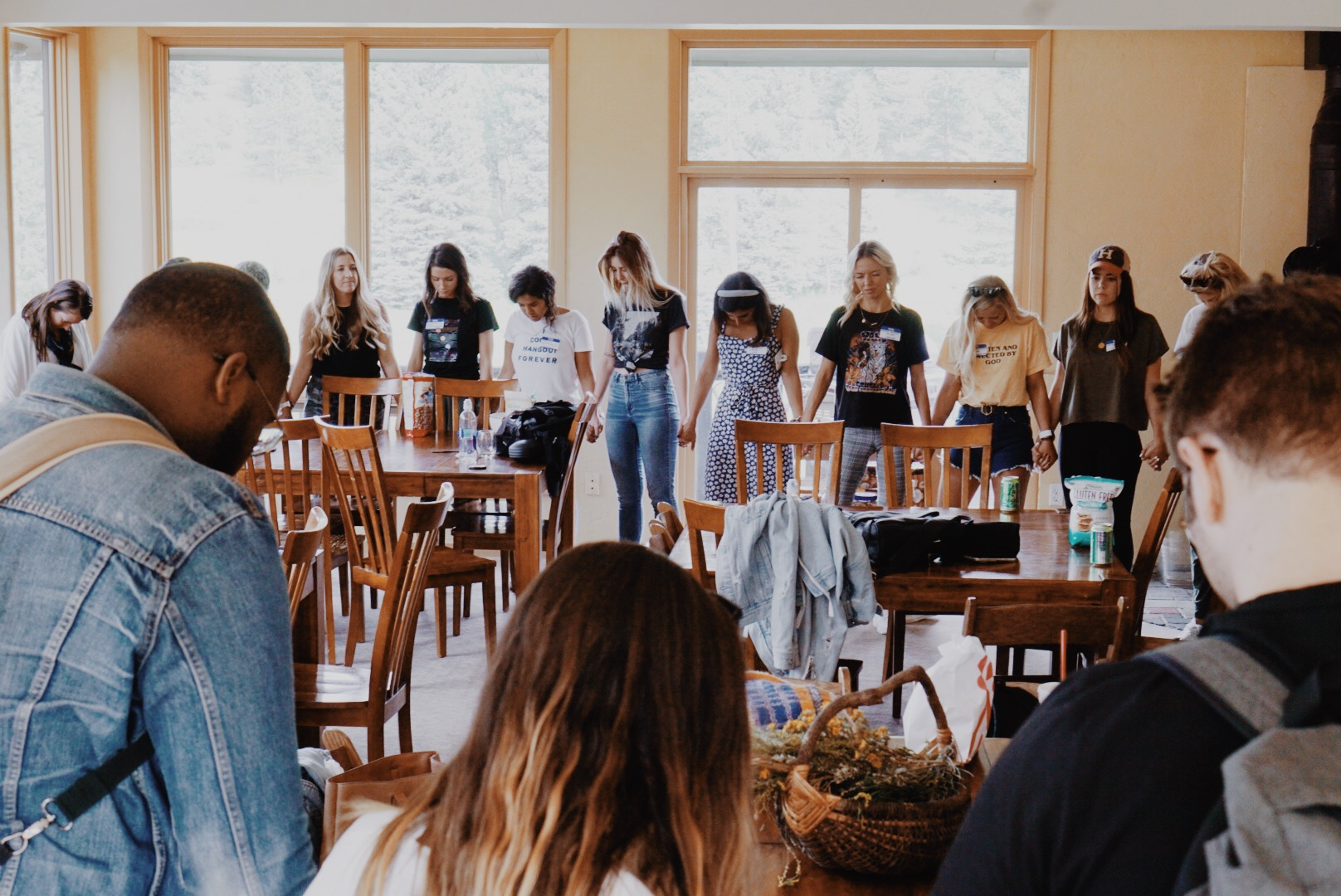 taken on the 1st day of the POWERFUL  @initiativenetwork 's women's retreat i was a part of this past weekend.