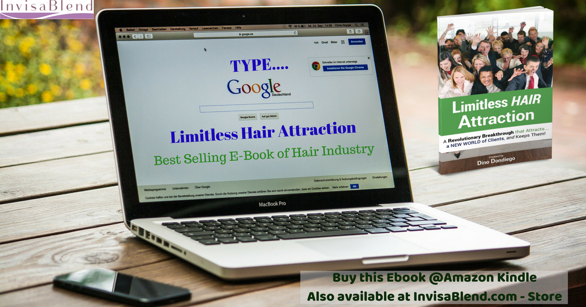 Search on Google - Limitless Hair Attraction Ebook (A Best Selling Books in Hair Industry)