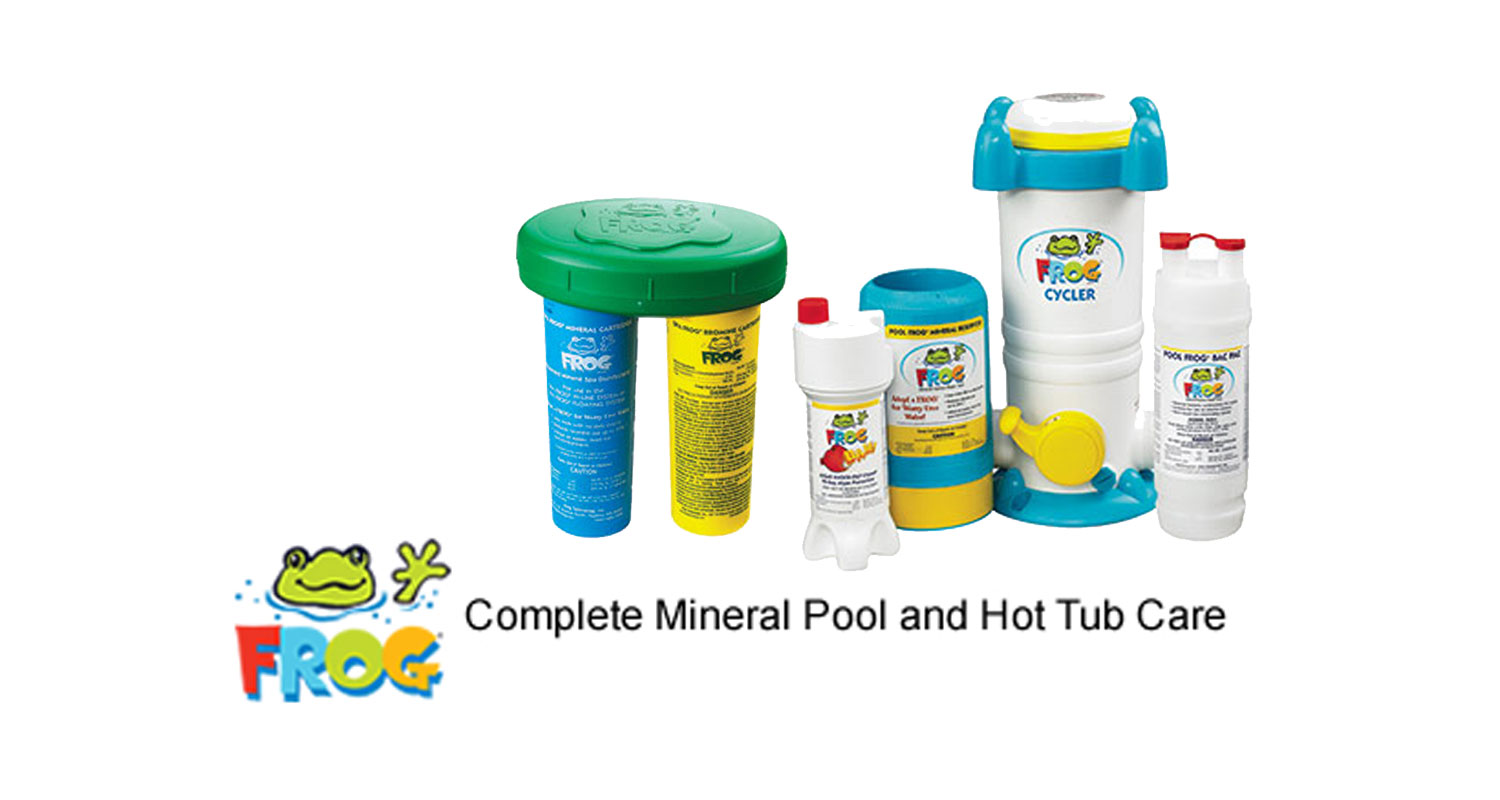 Frog Complete Mineral Pool and Hot Tub Care