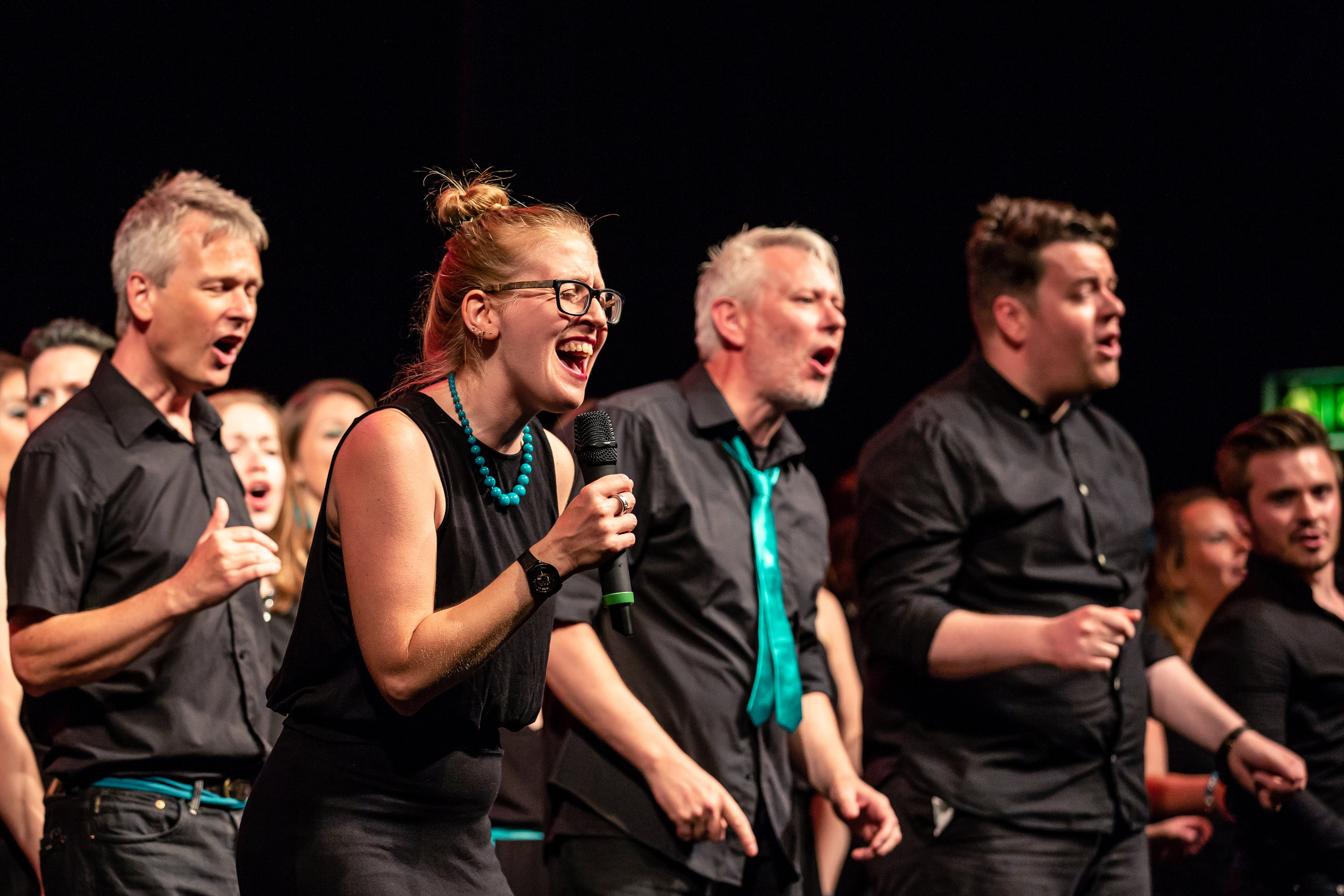 The Starling Arts Choirs PHOTO:  The Other Richard