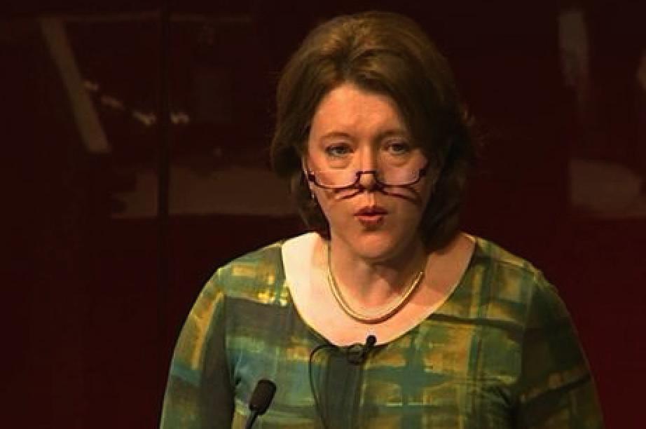 Culture Secretary Maria Miller speaking at the British Museum.  Source: artlyst.com