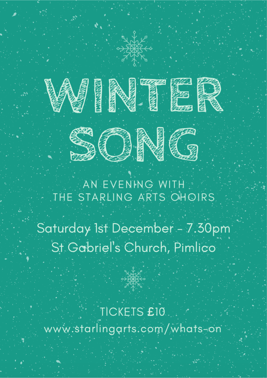 Catch us in London! - Get your tickets for Winter Song now!