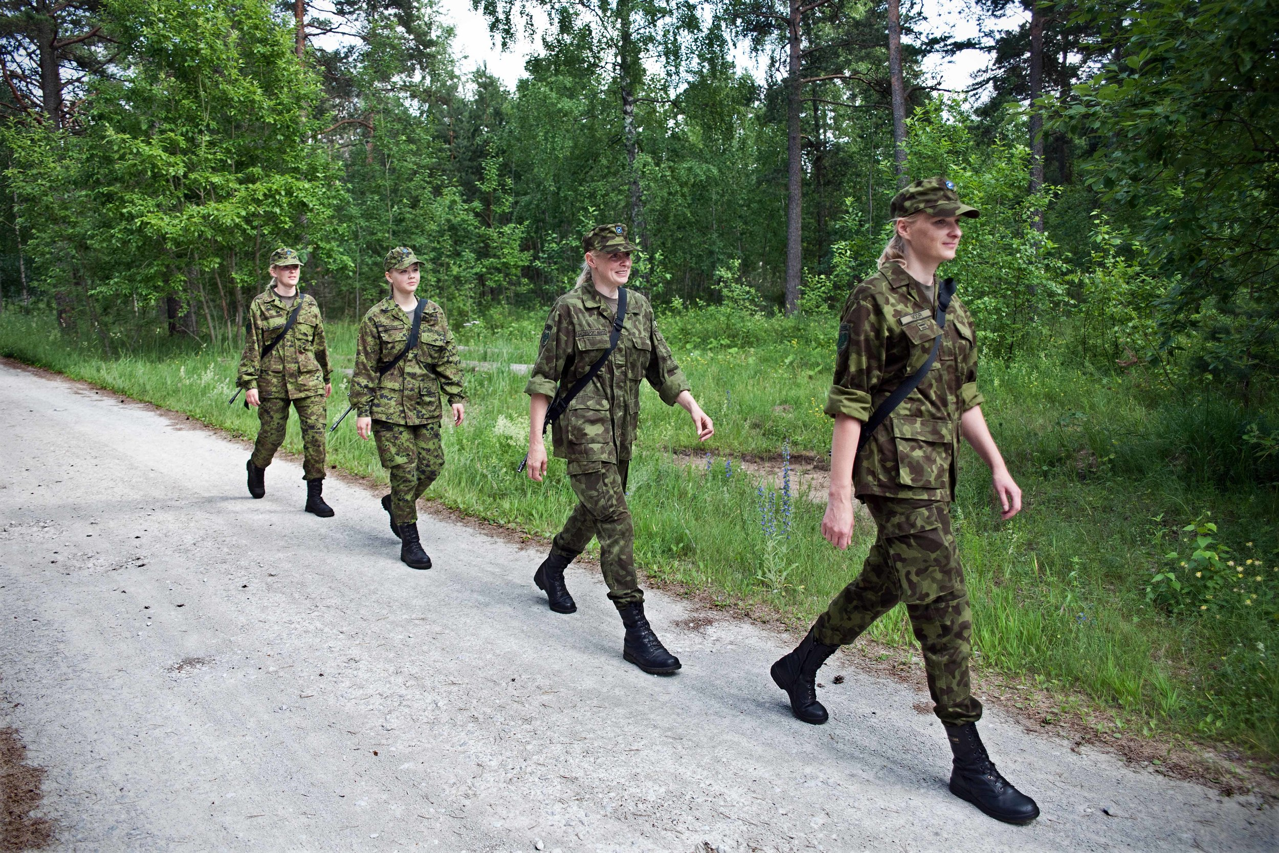 Estonia - Paramilitary Women 05.jpg