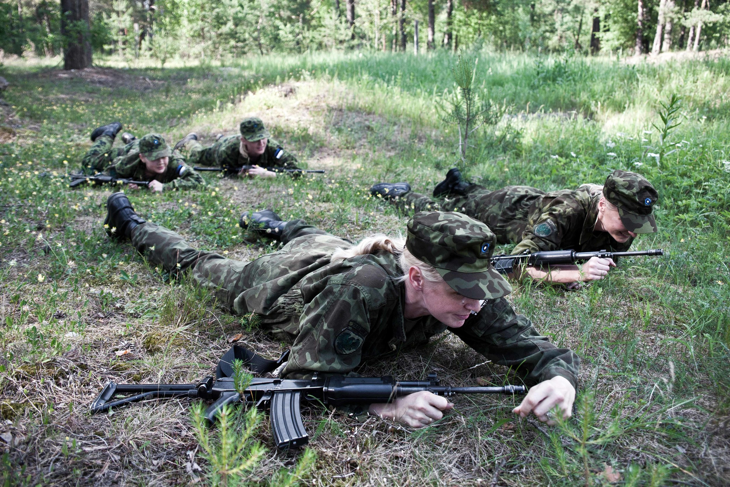Estonia - Paramilitary Women 15.jpg