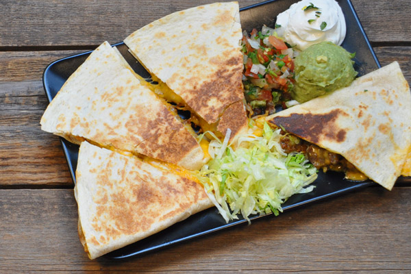 Steak or Chicken Grilled Quesadilla