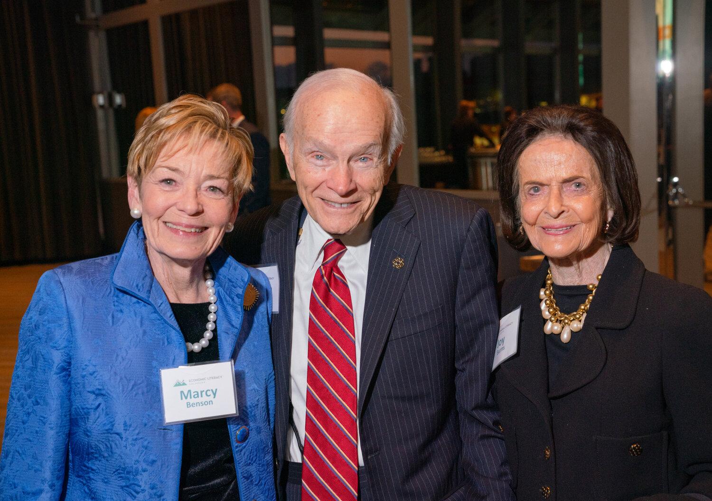 Marcy Benson, Dan Ritchie, Joy Burns