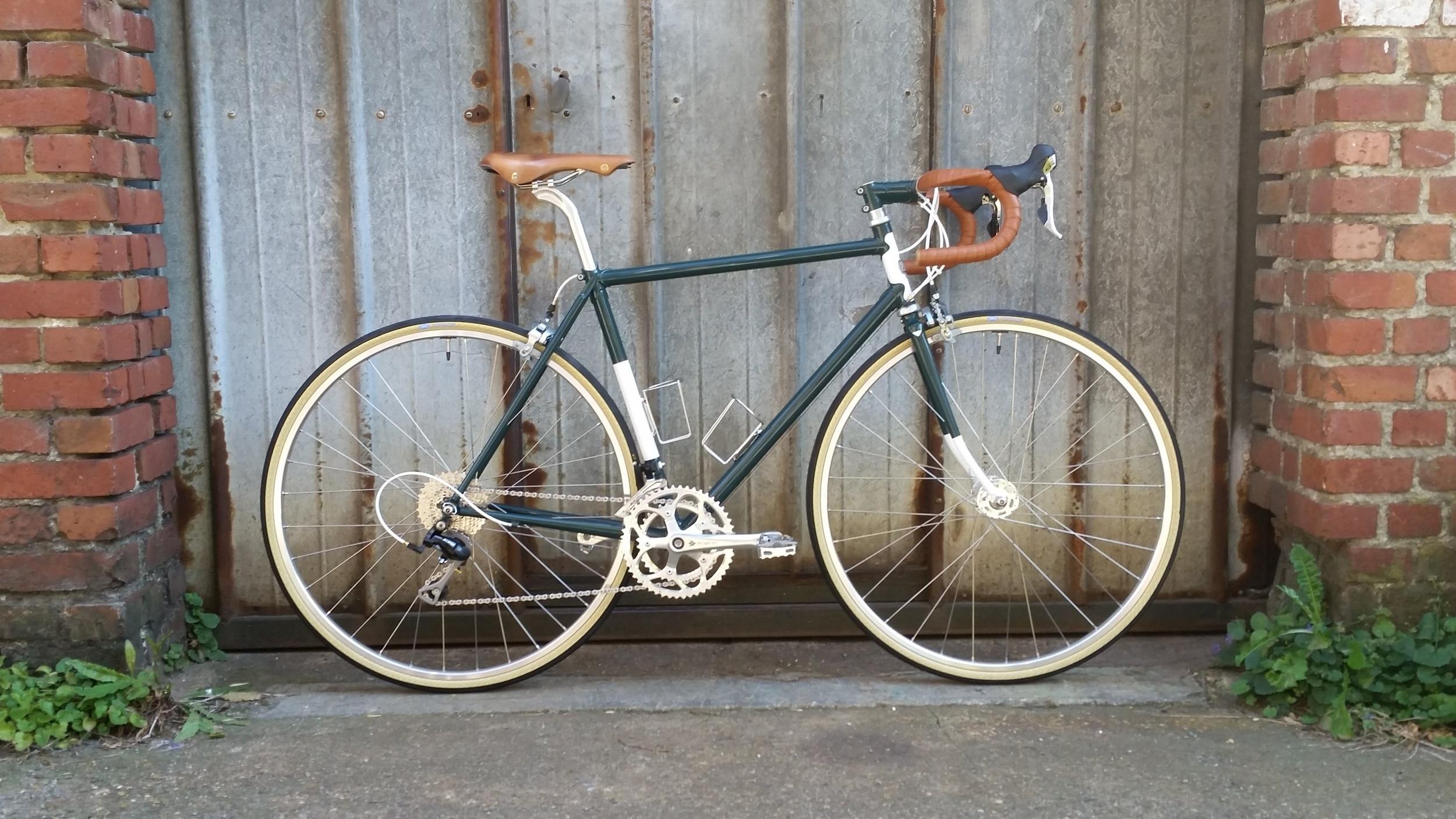 Vélo de route longue distance d'Olivier G.