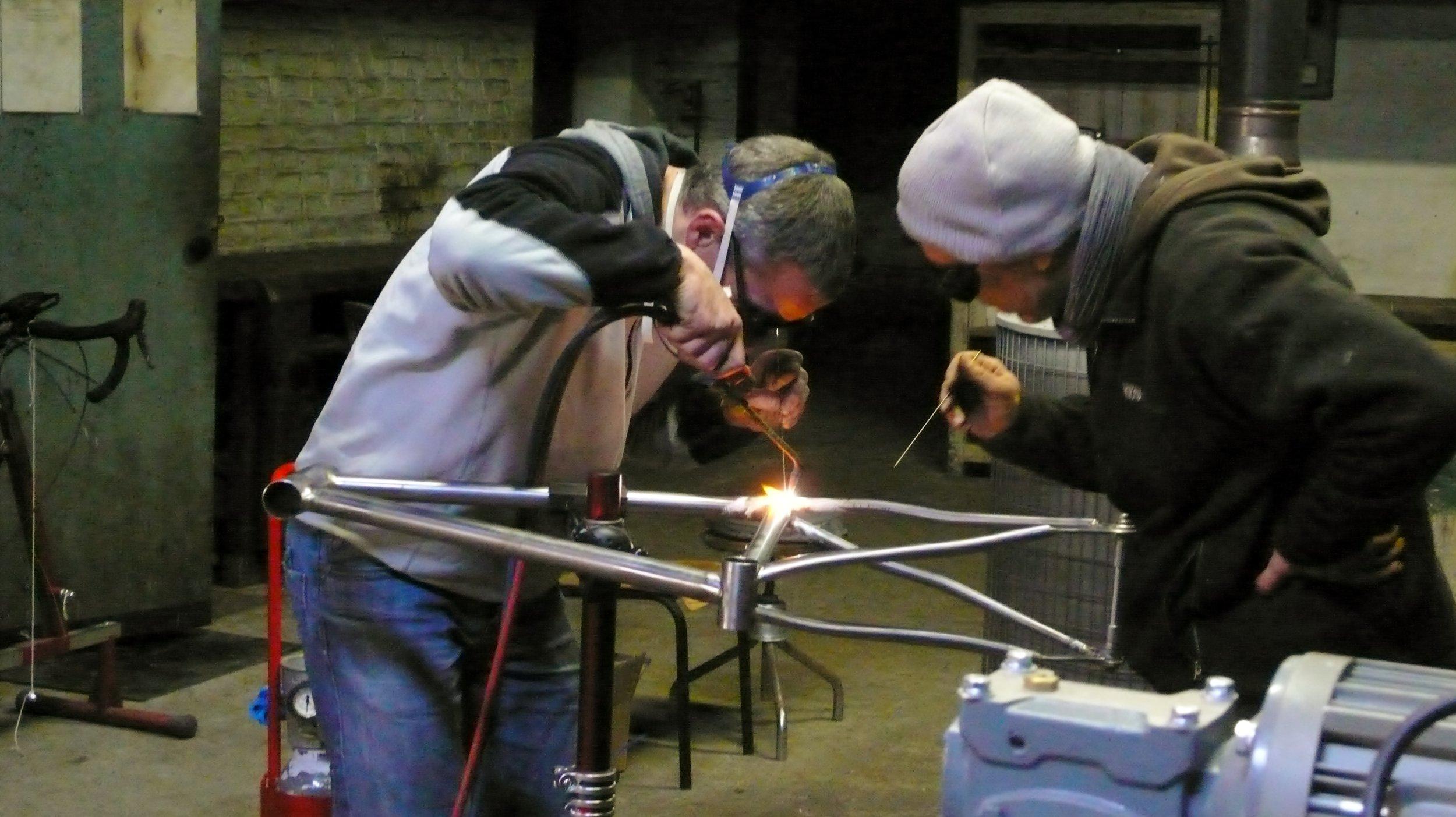 Les cours ont lieu individuellement ou en groupes de deux participants (photo: Xavier Diaz)