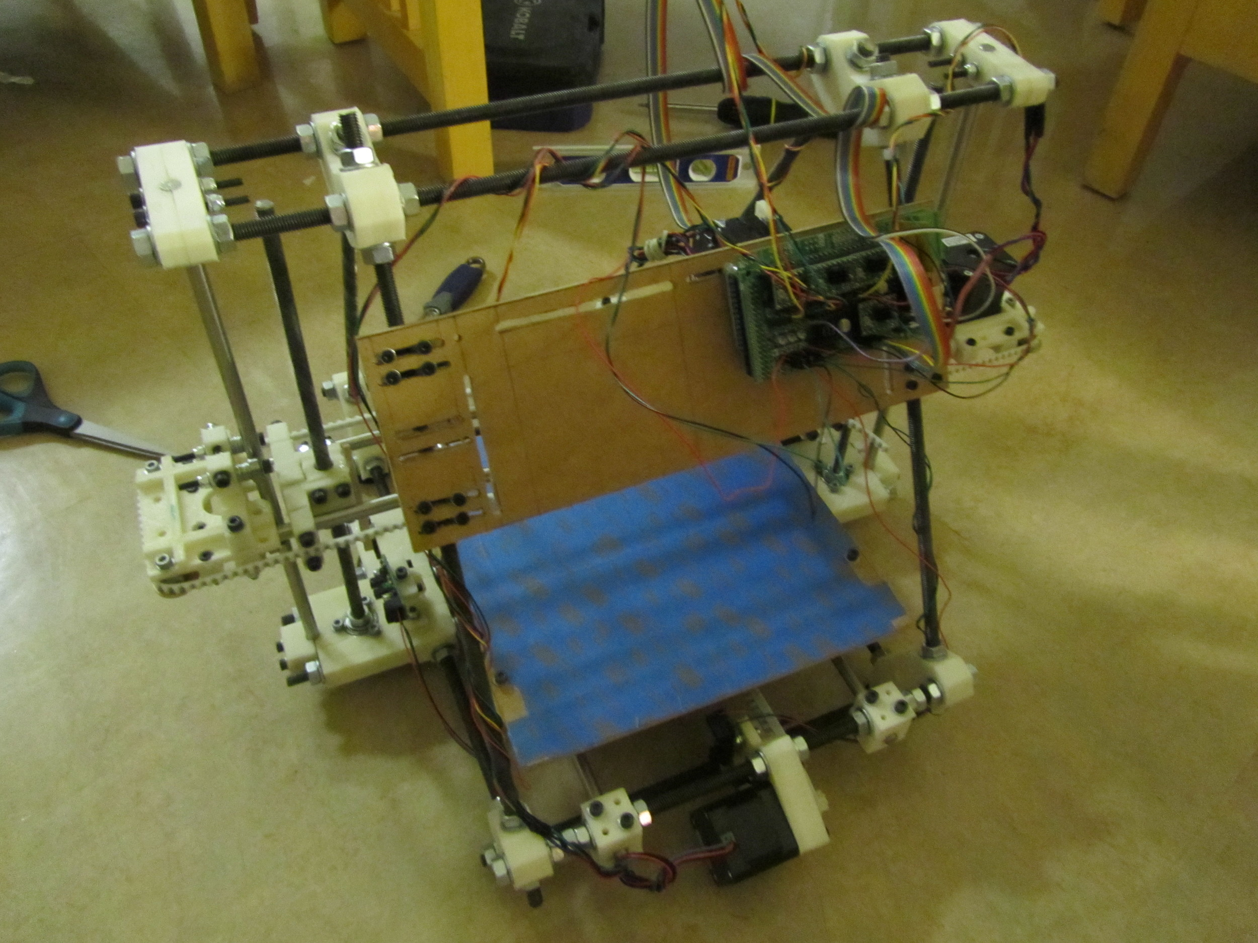 The finished printer