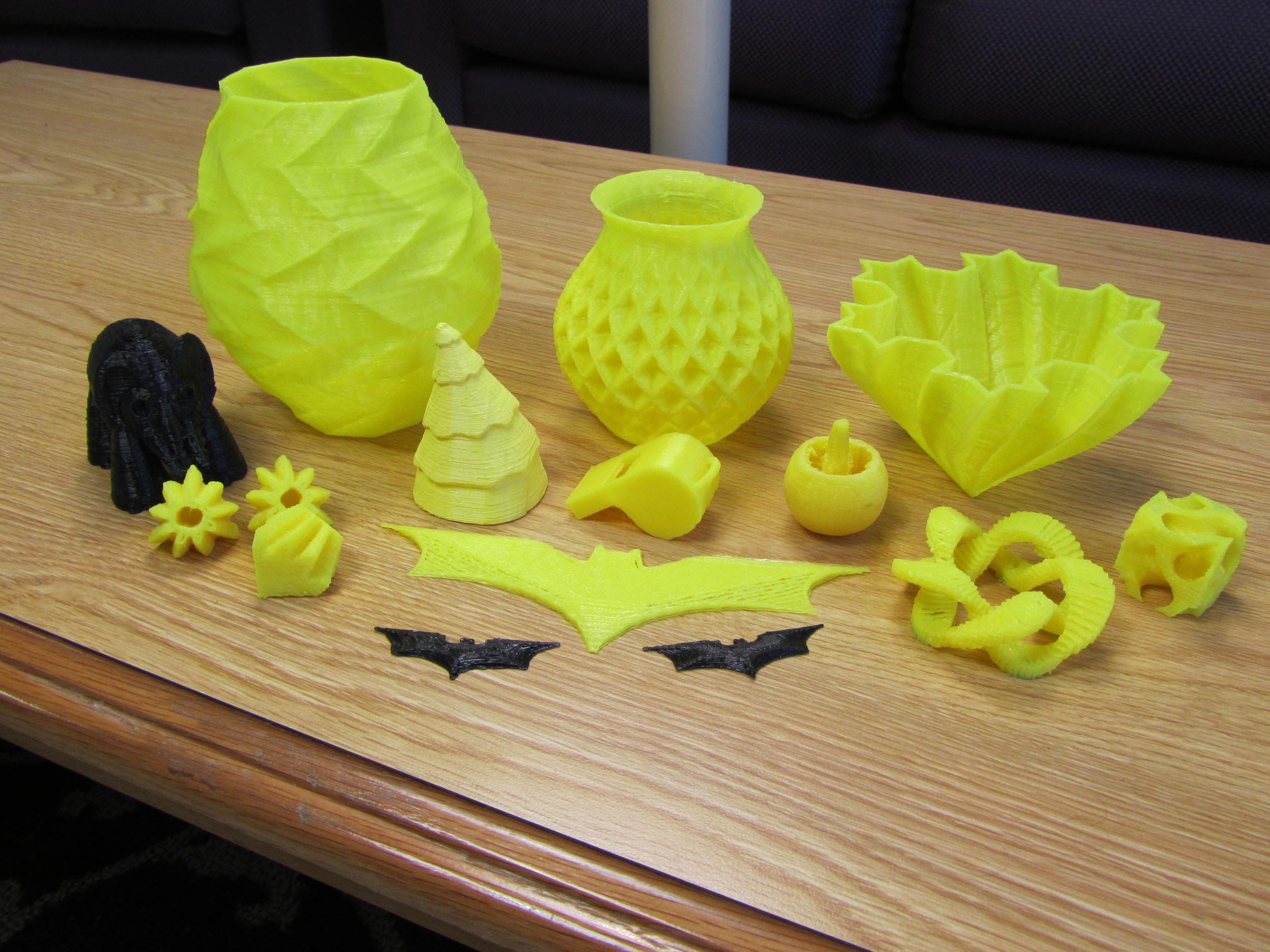 3D printed stuff!