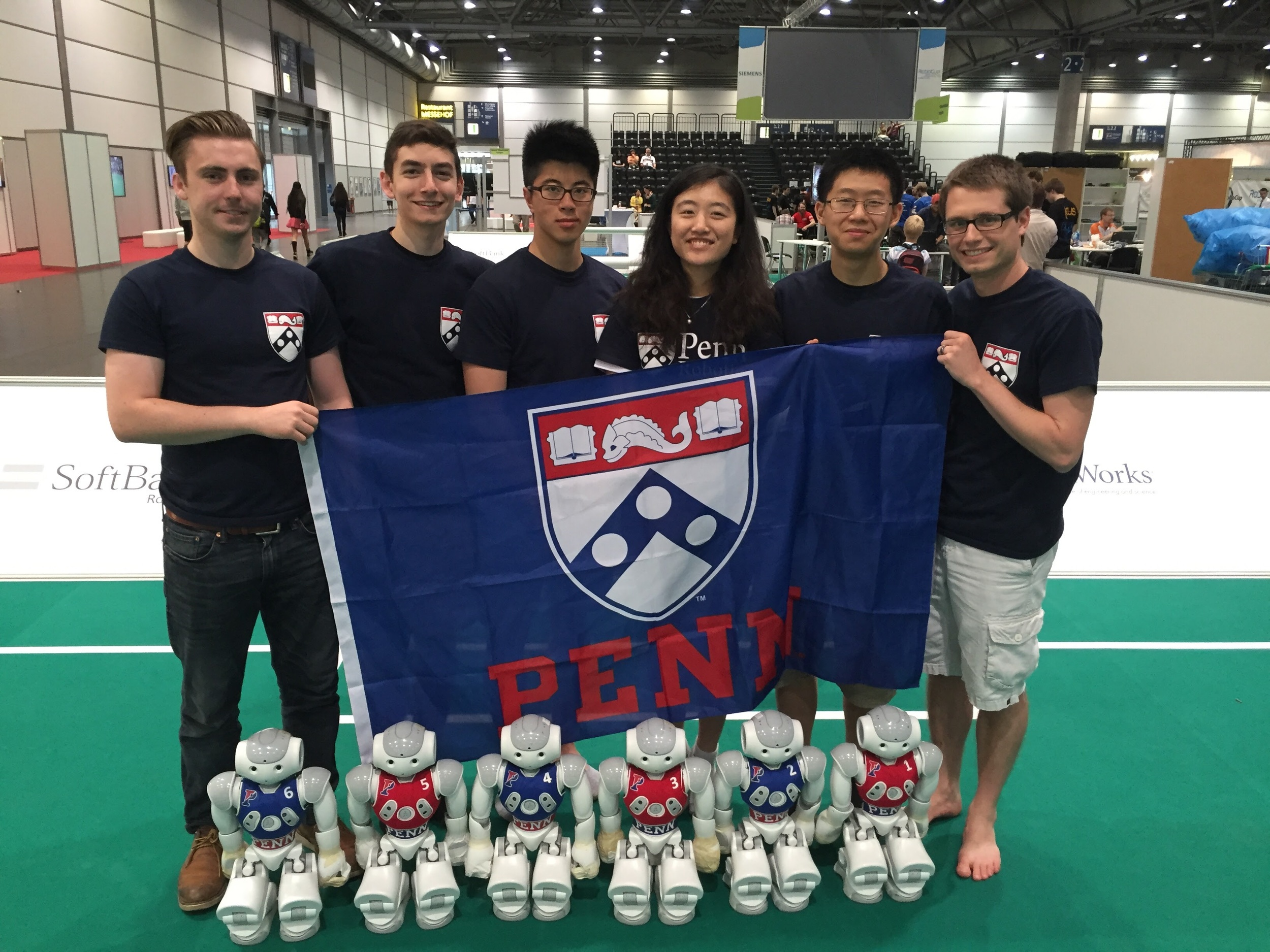 Our team: humans and robots