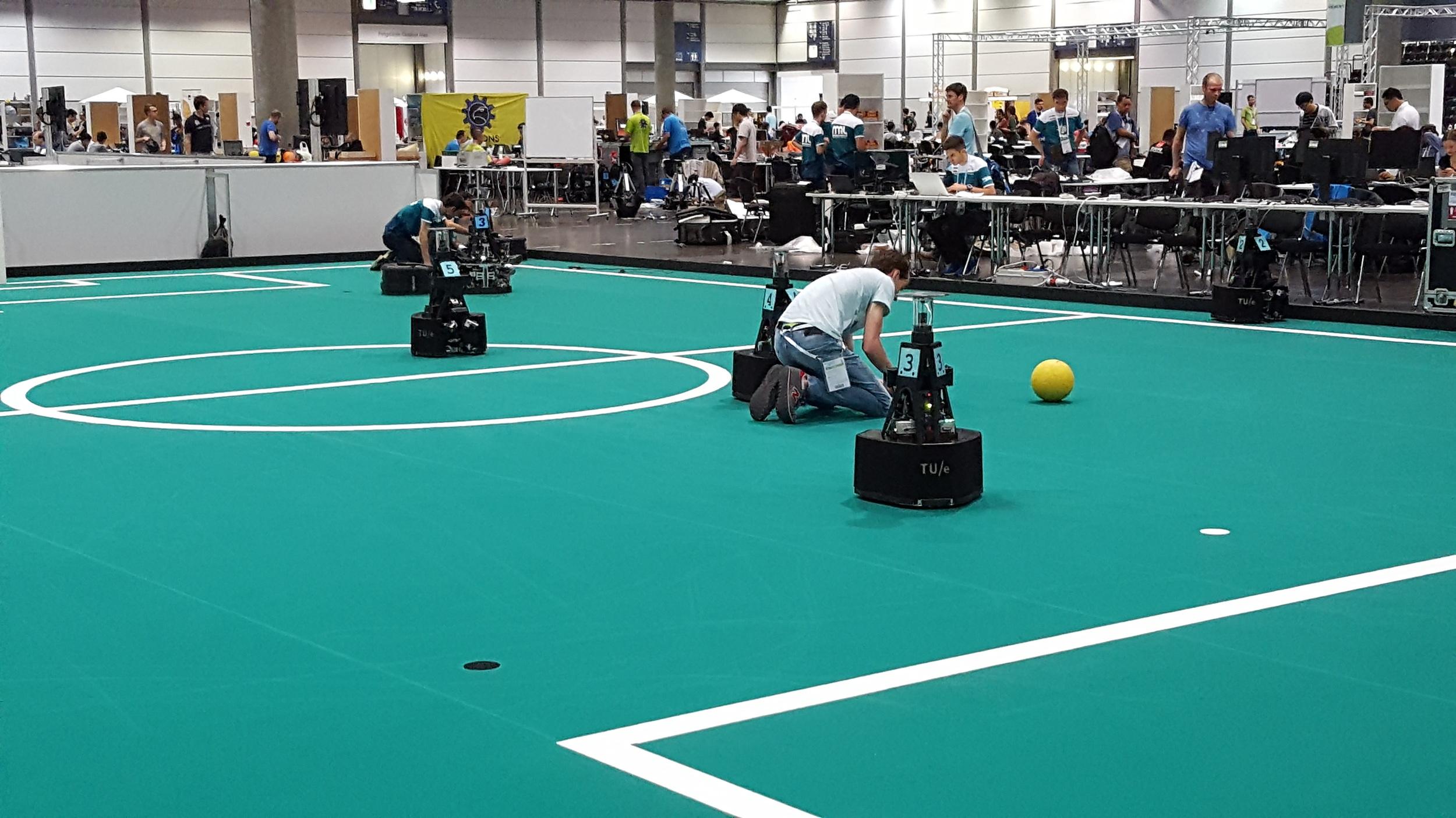Mid Sized League robots