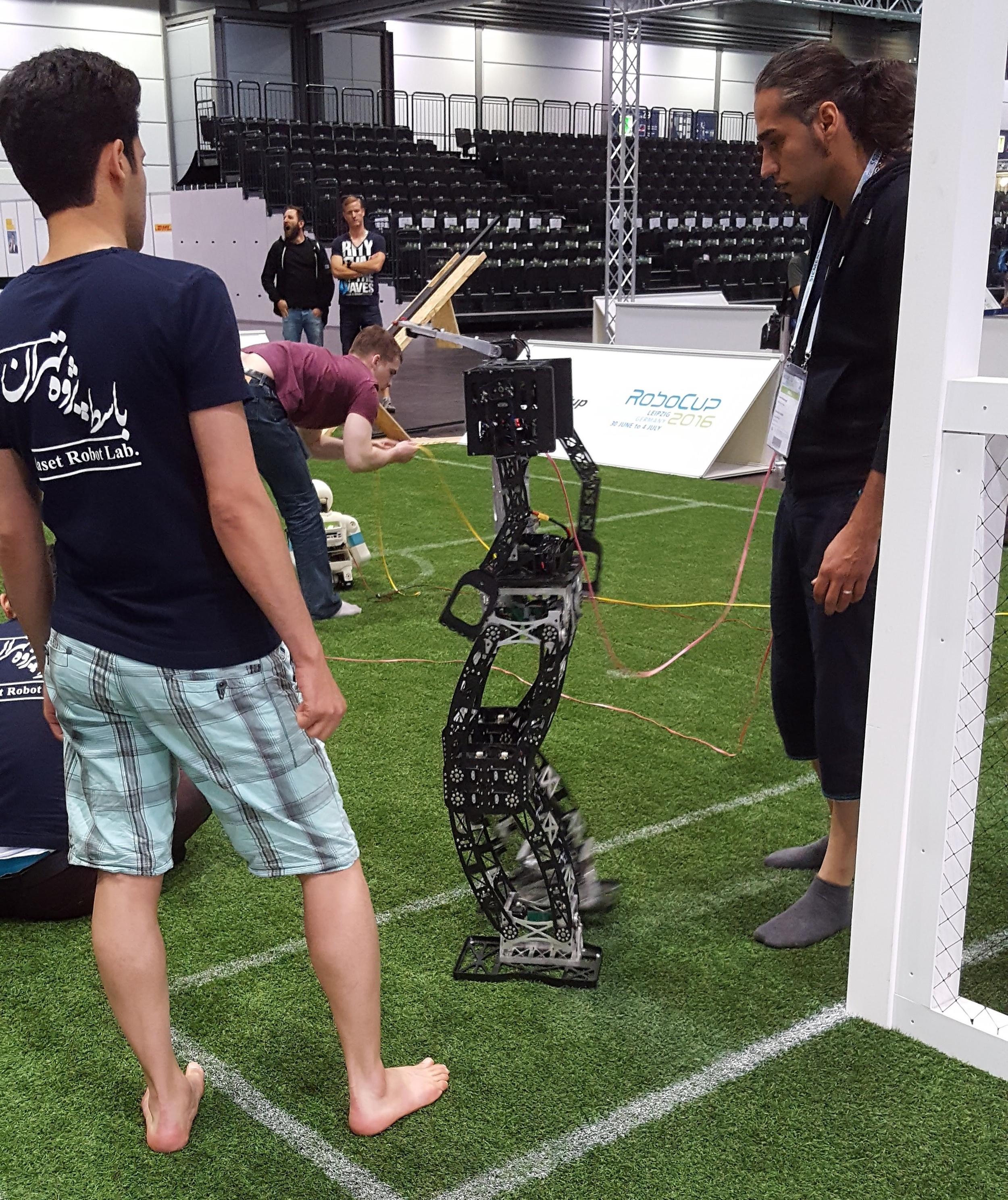Adult Sized Humanoid League Robot