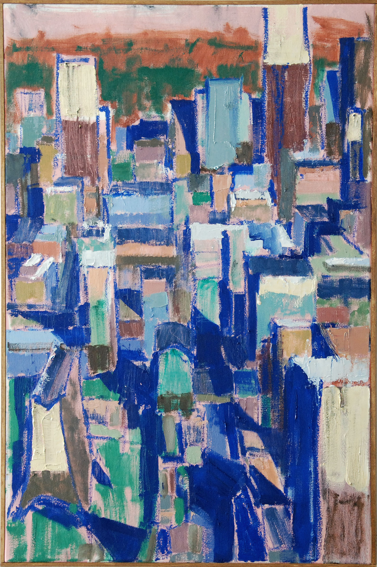 Yorkville, 2019. 36 x 24 inches, oil on canvas.