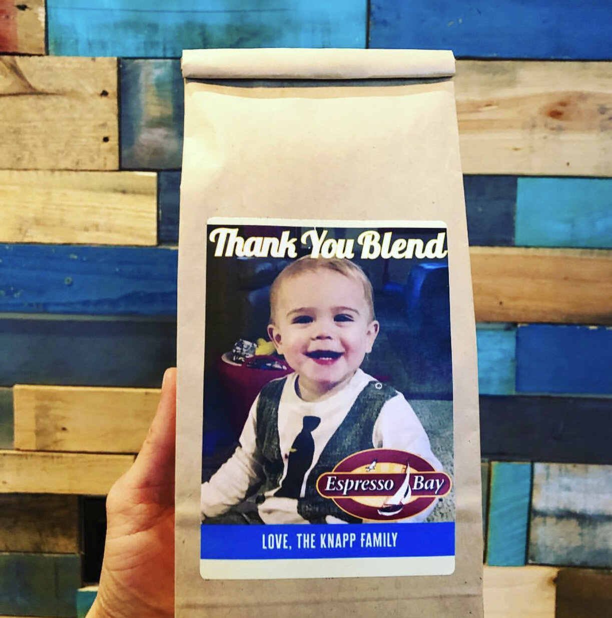 Looking for a Unique and Memorable Gift? - Order Custom Coffee Labels for ANY Occasion! We would love to help bring your idea to life. Click for more information.